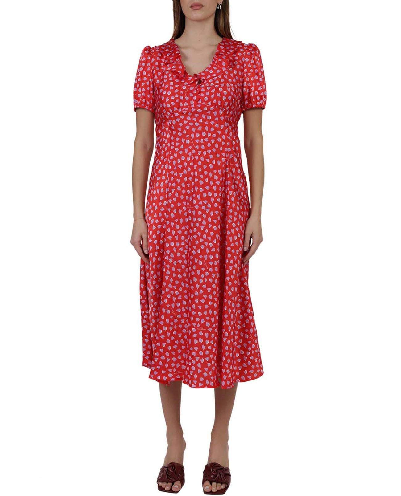Buy The Marc Jacobs Red Love Dress online, shop Marc Jacobs with free shipping