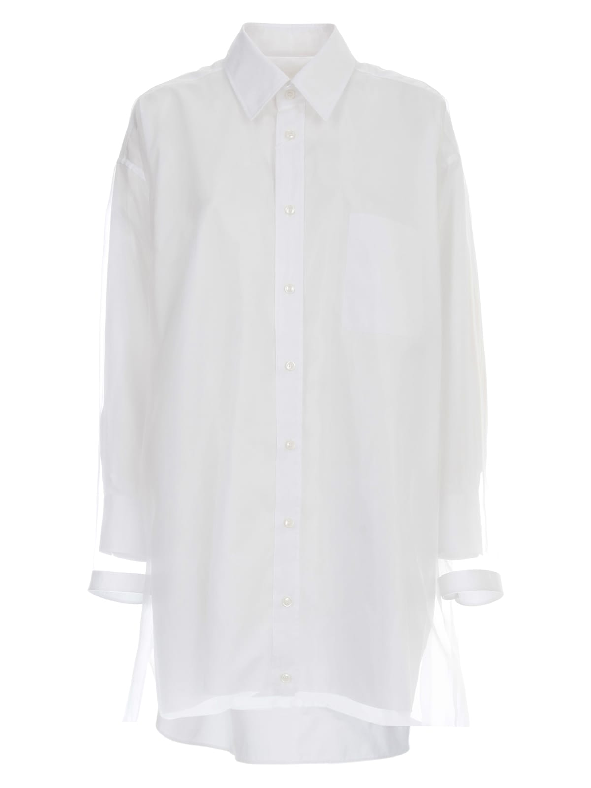 Buy Maison Margiela Popeline Cotton Dress online, shop Maison Margiela with free shipping