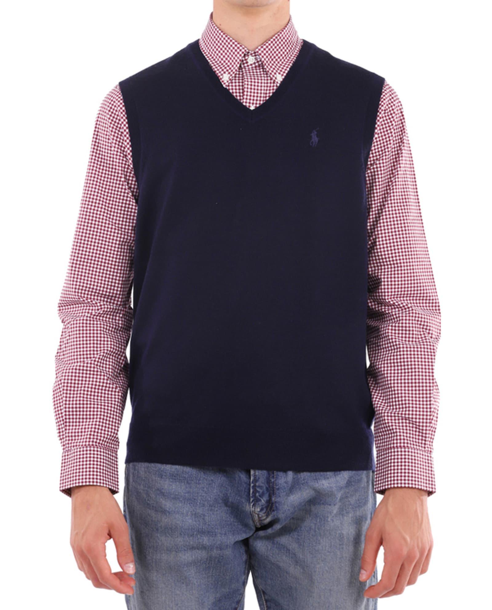 Polo Ralph Lauren Navy Vest