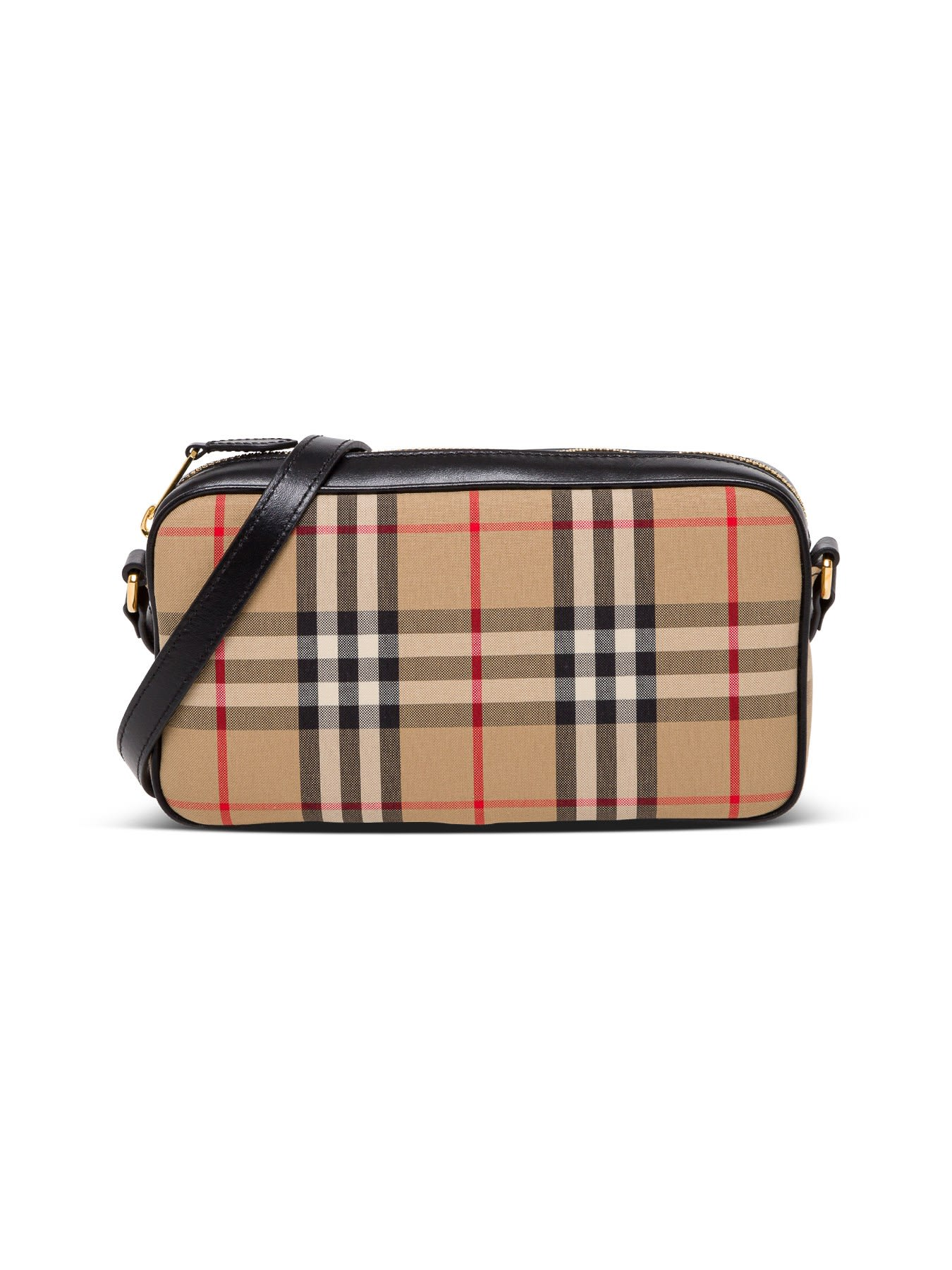 Burberry CROSSBODY BAG IN VINTAGE CHECK FABRIC