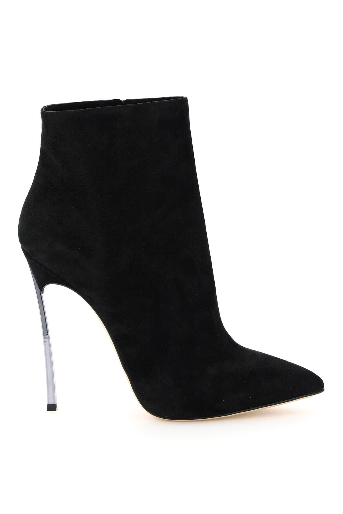 Casadei BLADE 120 SUEDE ANKLE BOOTS