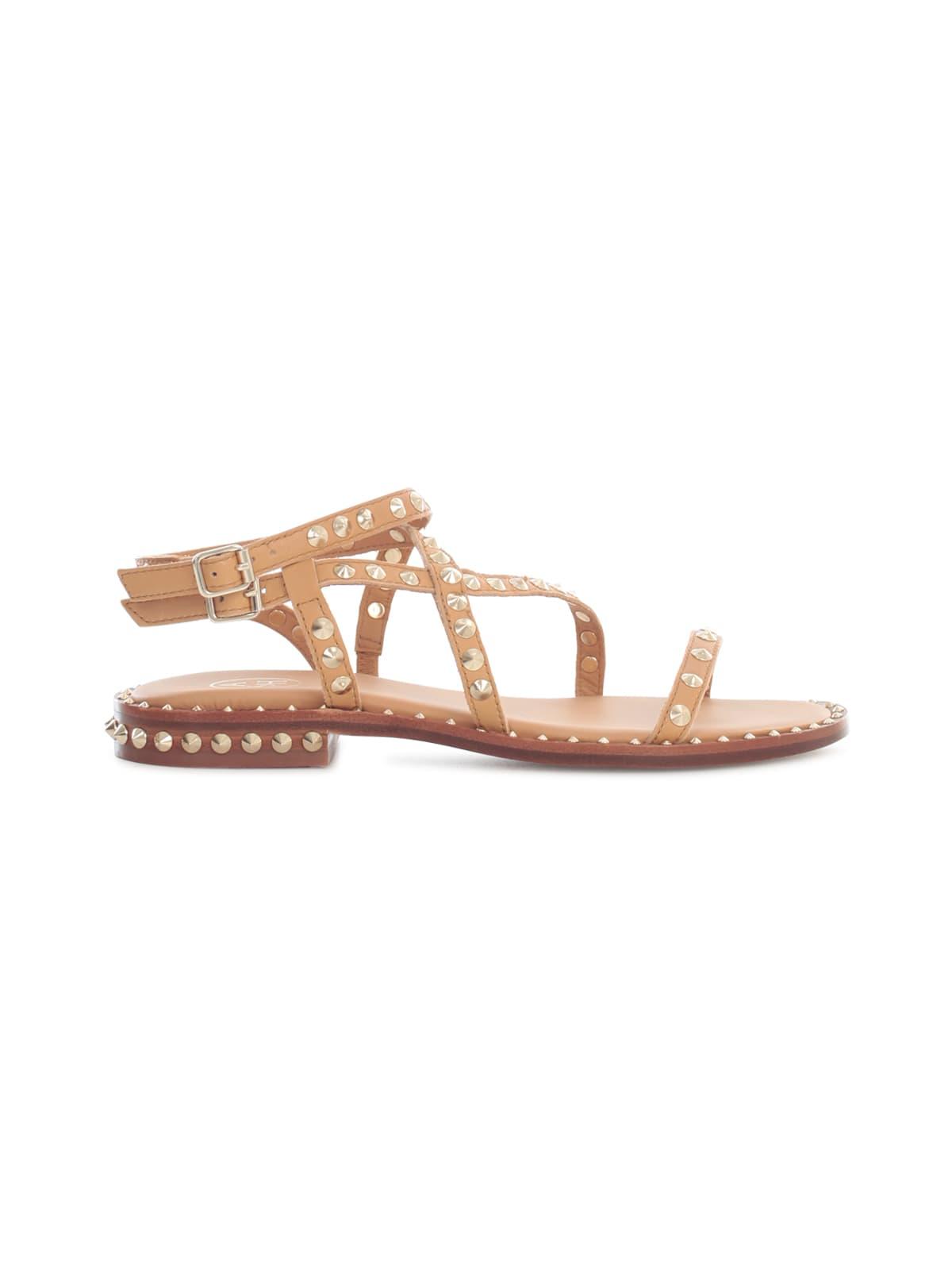 Ash Sandals DOUBLE BUCKLE SANDALS W/STUDS