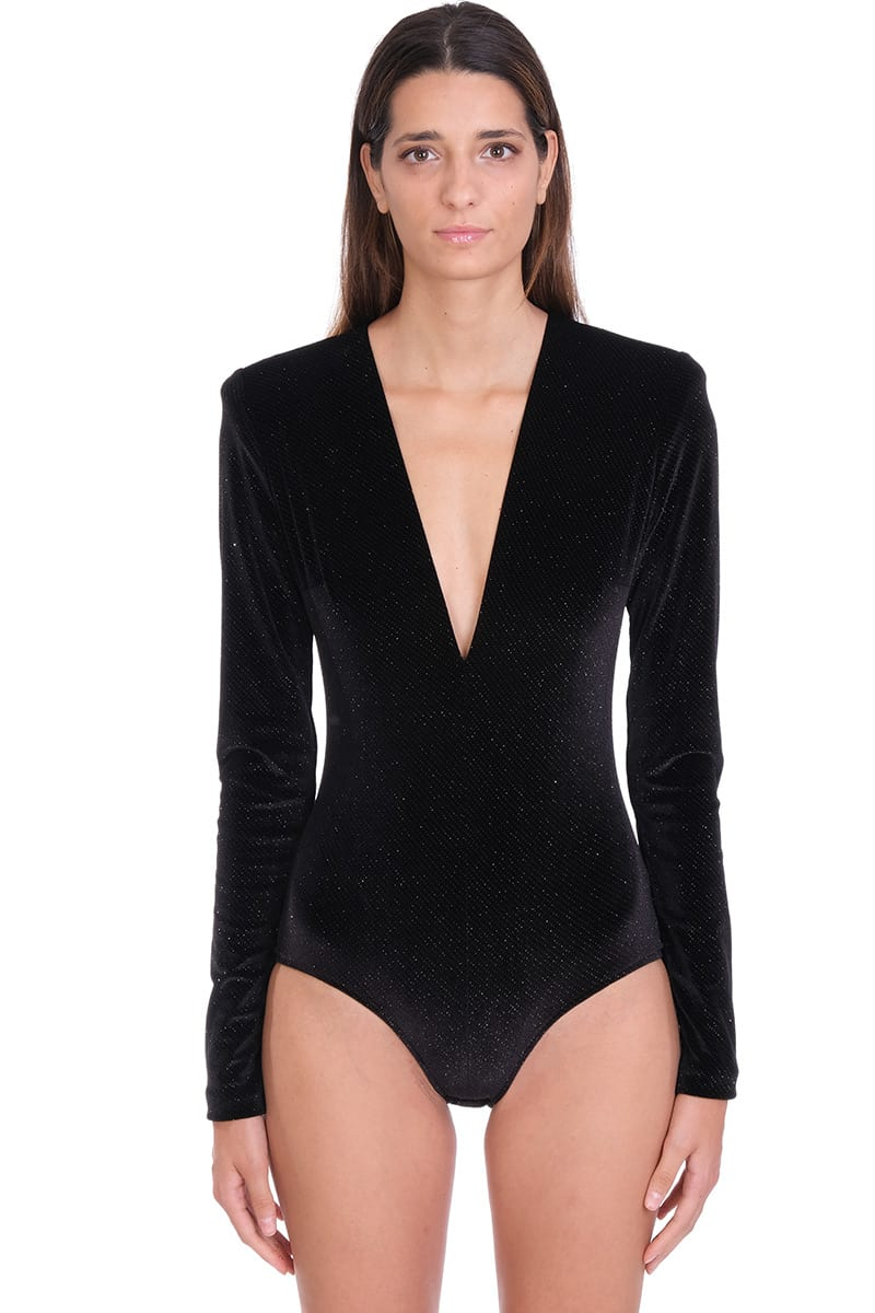 Alexandre Vauthier BODY IN BLACK POLYESTER