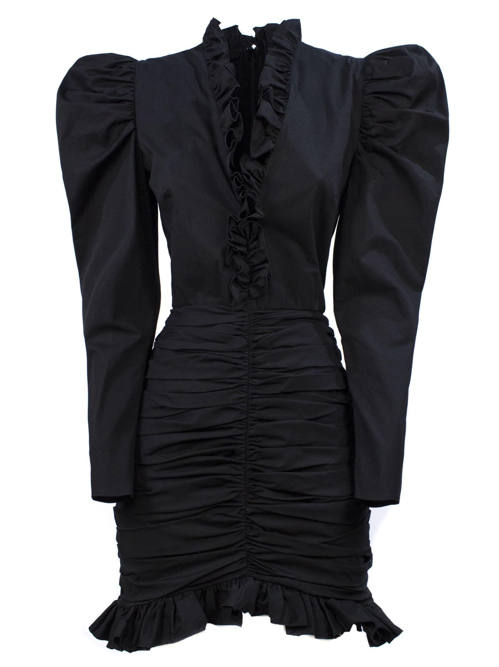 Buy Giuseppe di Morabito Black Silk Blend Dress online, shop Giuseppe di Morabito with free shipping