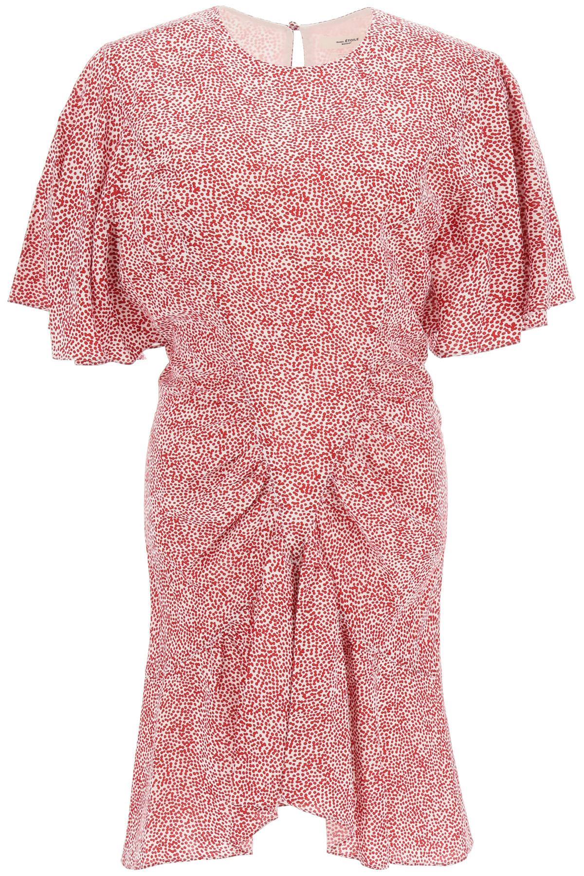 Buy Isabel Marant ?toile Osias Printed Mini Dress online, shop Isabel Marant ?toile with free shipping