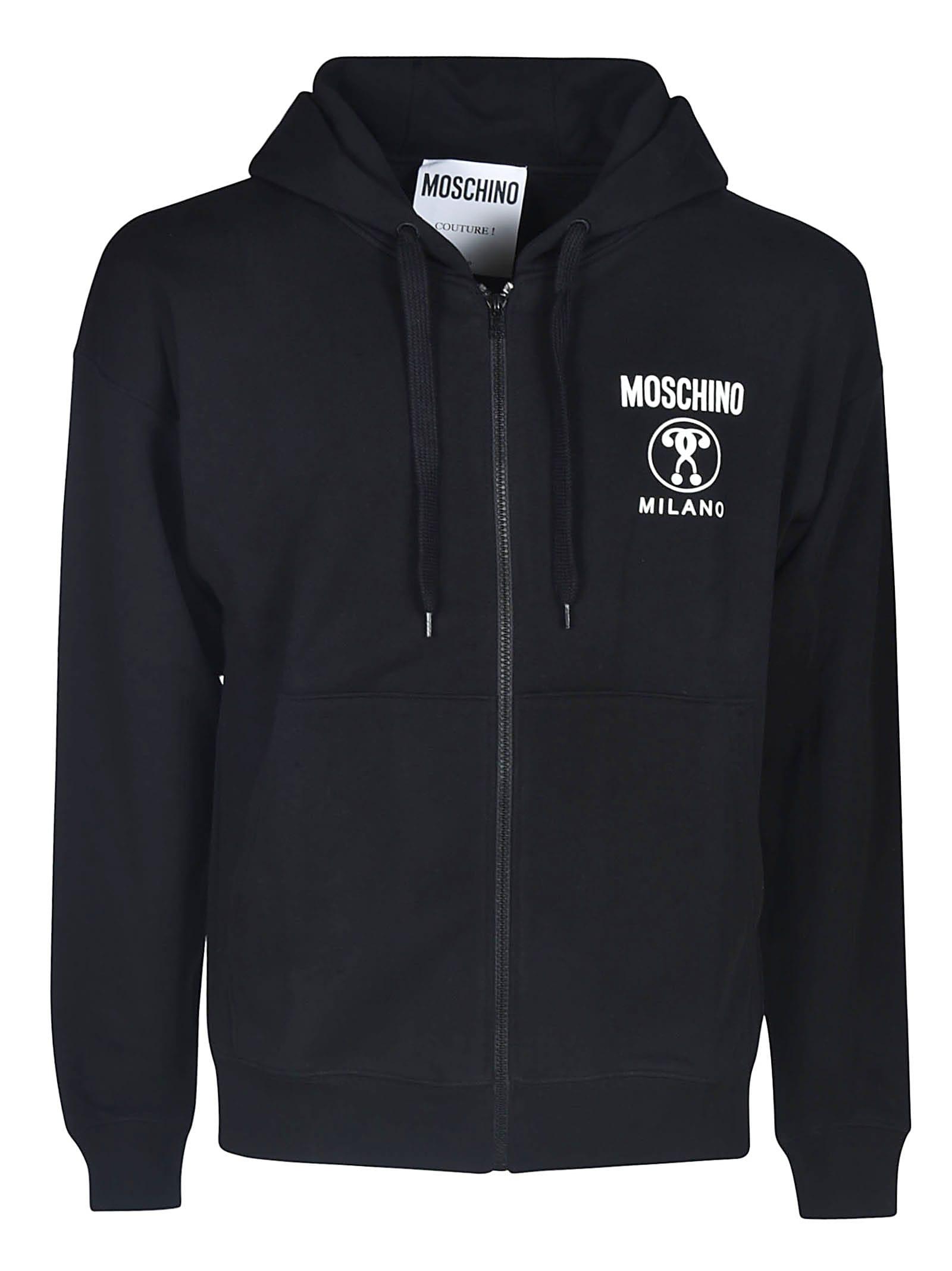 Moschino Milano Zip Hoodie