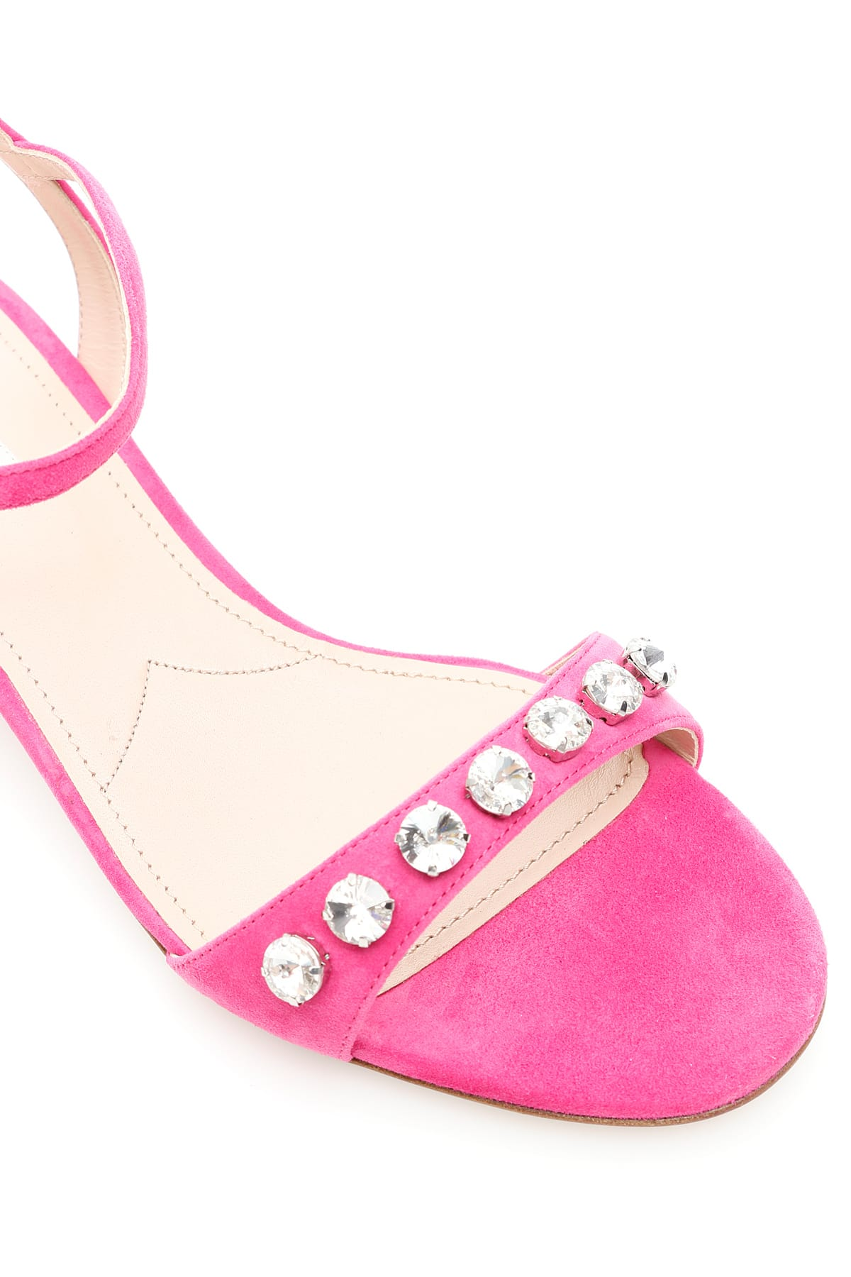 Best Price Miu Crystal Sandals - Great Deals