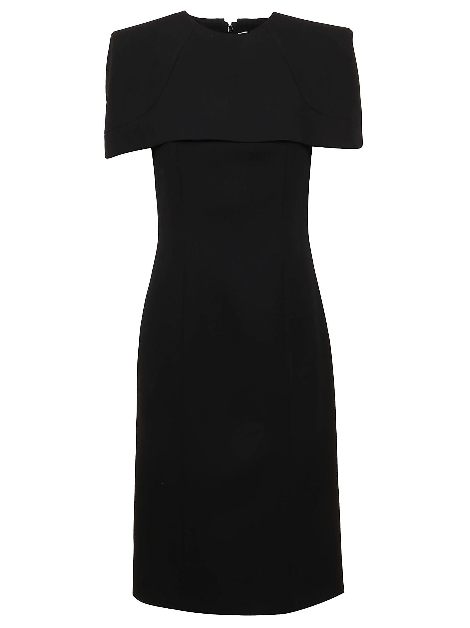 Buy Givenchy Dress With Cape online, shop Givenchy with free shipping