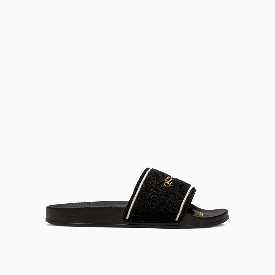 Off-White OFF-WHITE TOWEL SLIDERS OMIA088E20FAB001