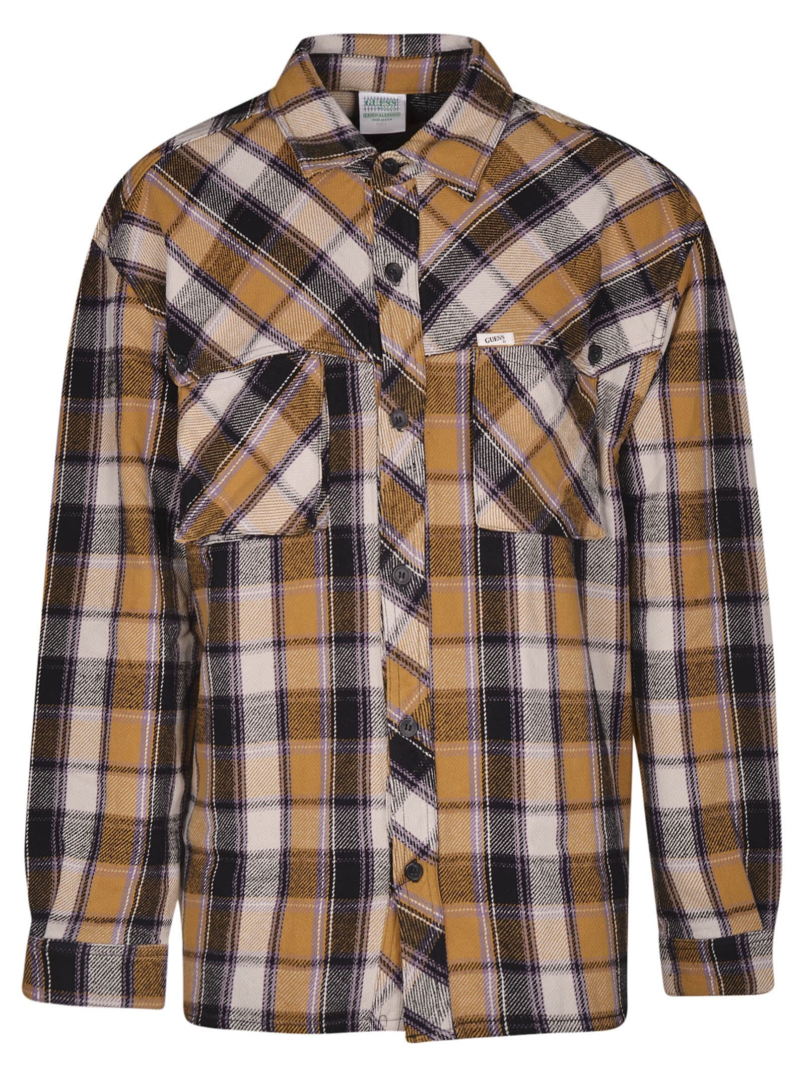 a669df2a77ad Guess Guess Plaid Flannel Storm Shirt - Thai curry multicolor ...