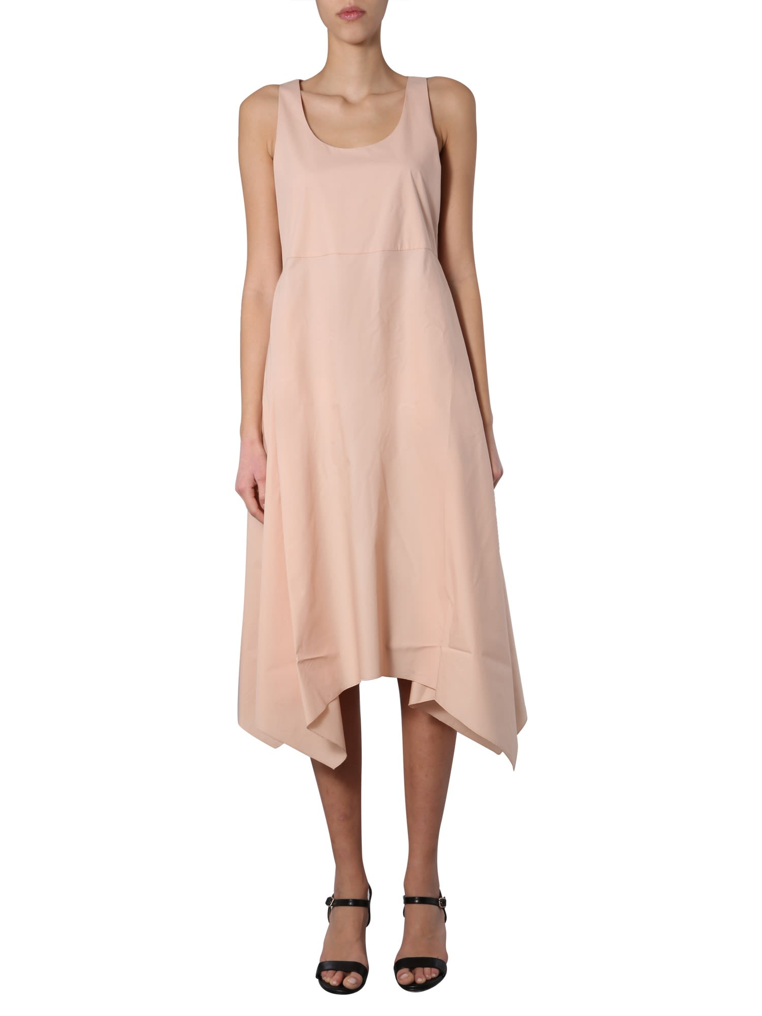Buy Fabiana Filippi Round Neck Dress online, shop Fabiana Filippi with free shipping