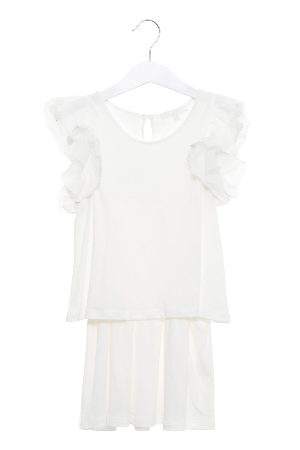 Chloé Ruffles Dress