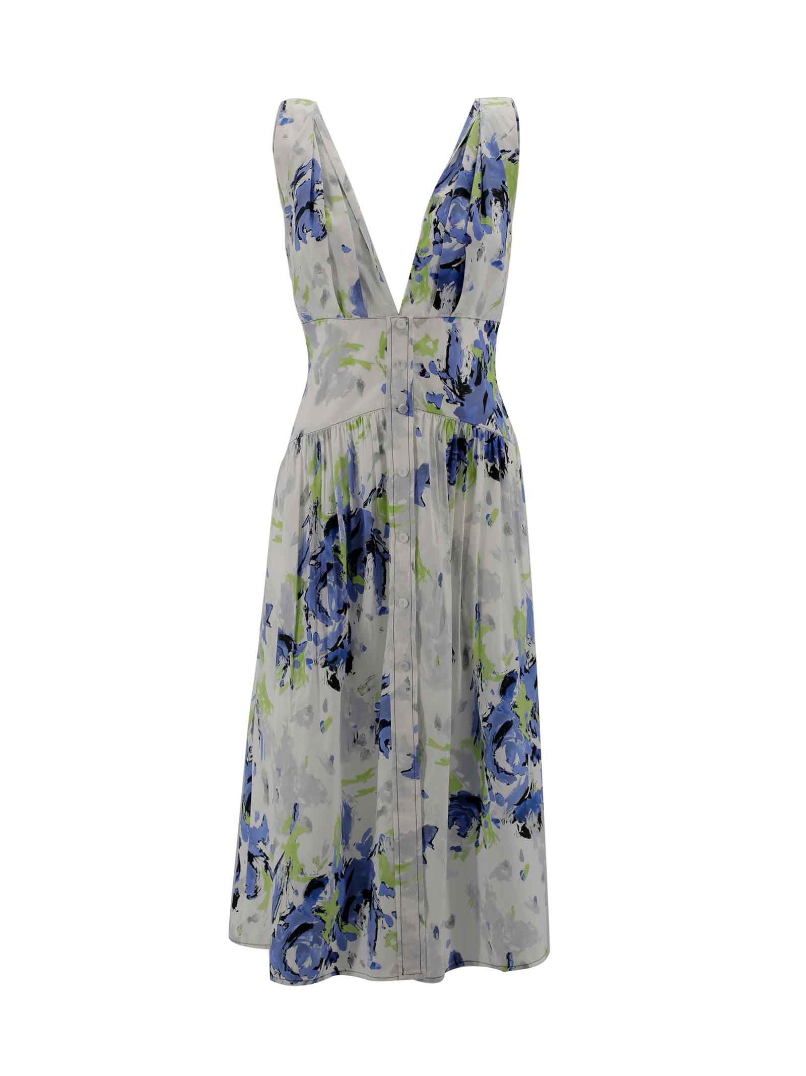 Cotton Mid Dress