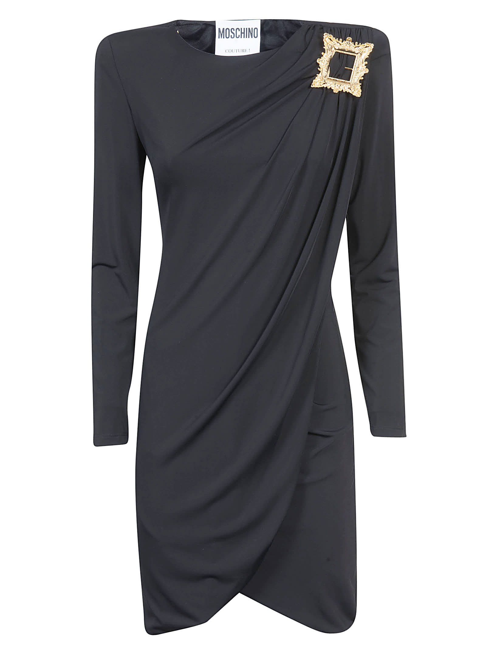Buy Moschino Draped Mid-length Dress online, shop Moschino with free shipping