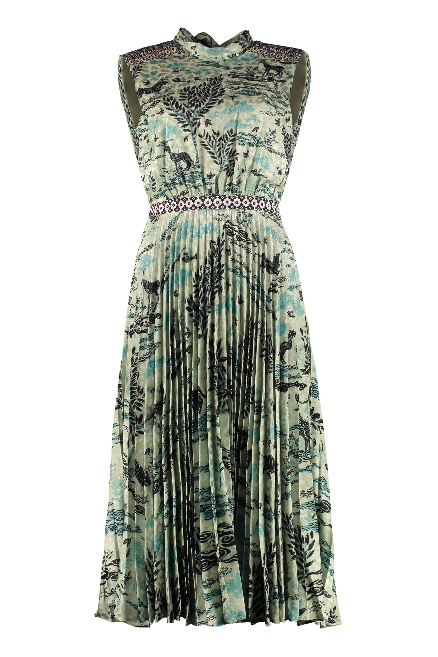 Saloni Fleur-e Long Dress