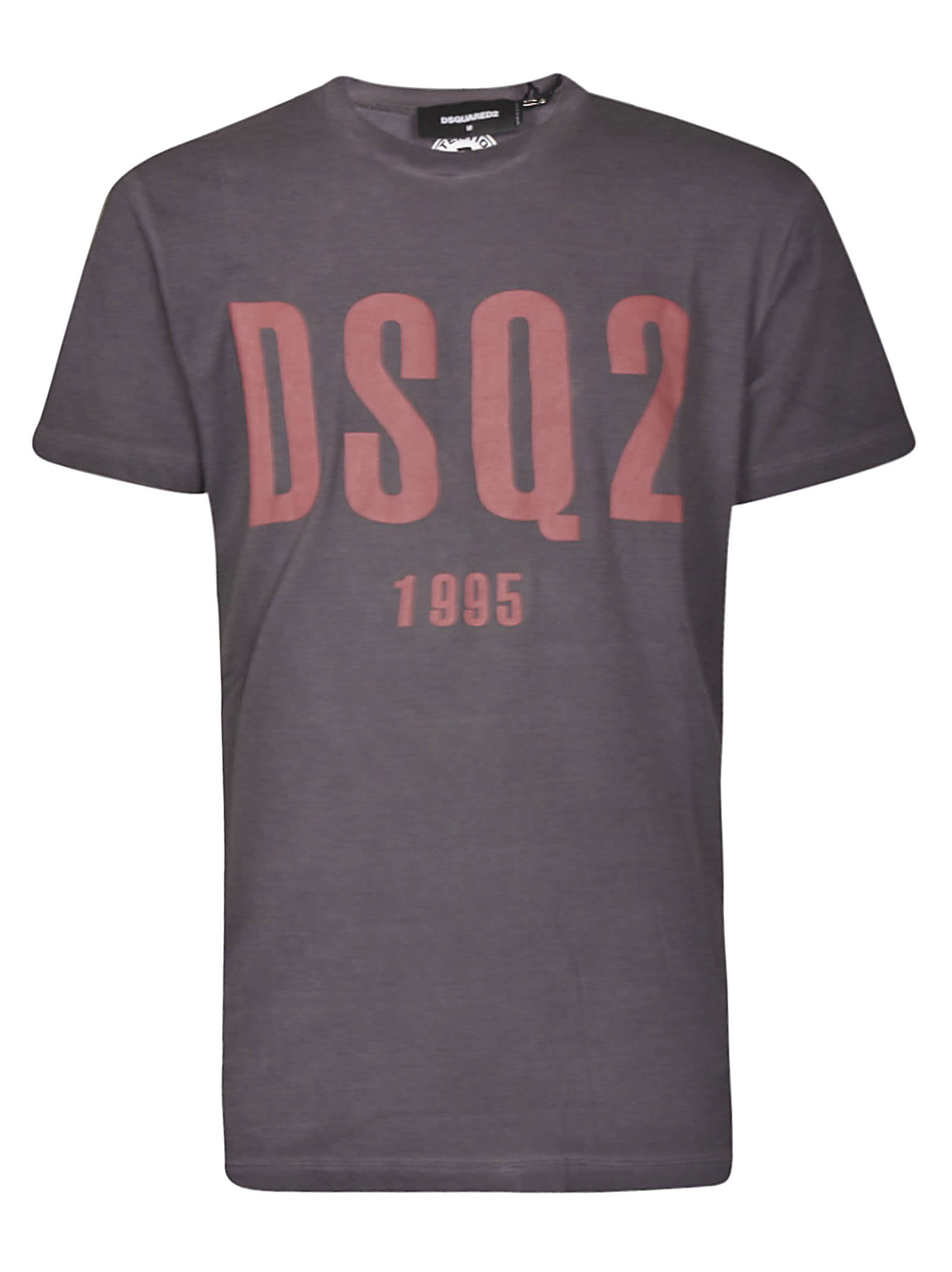 Dsquared2 Logo Print Slim T-shirt