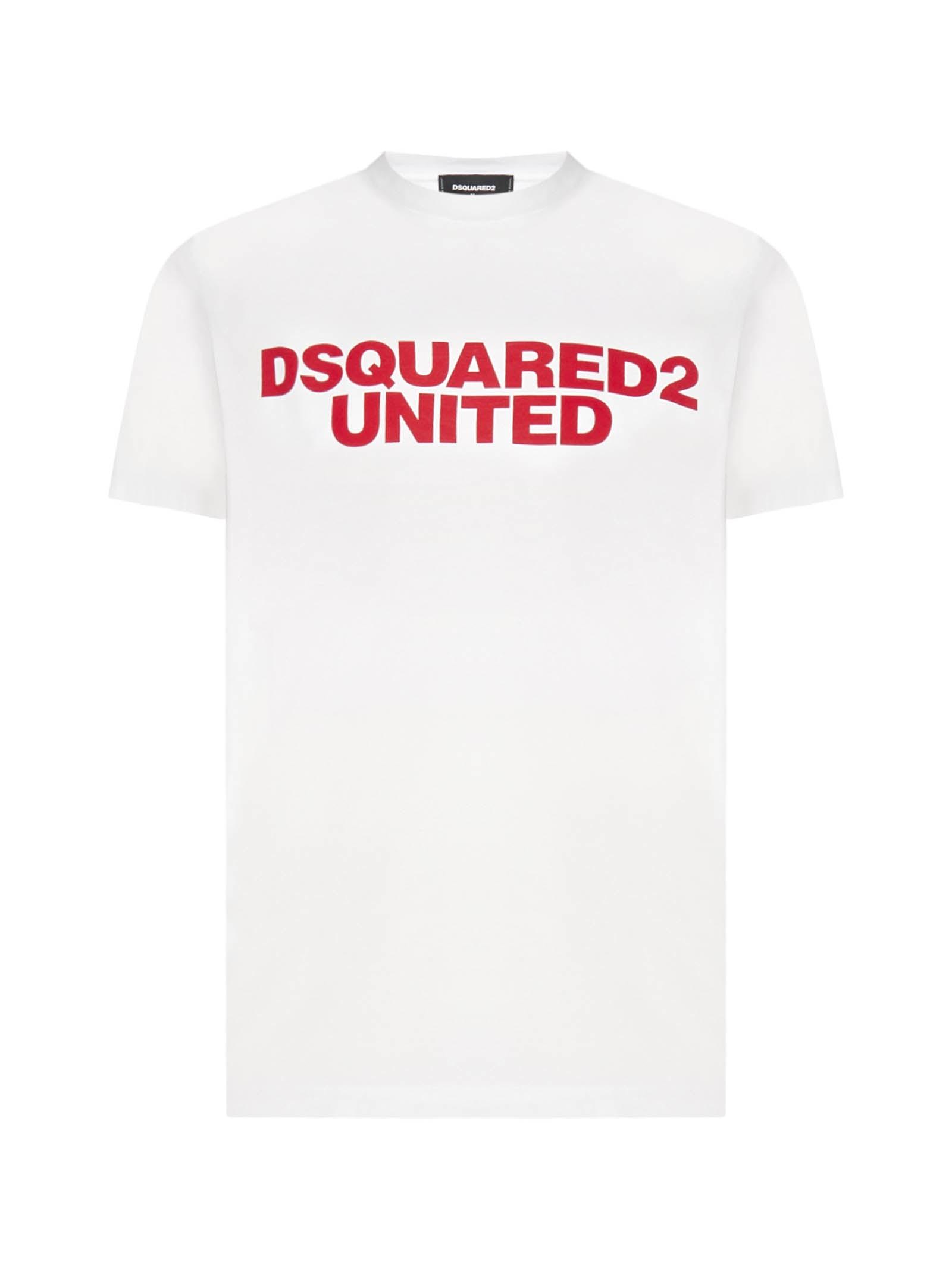 Dsquared2 United Logo Cotton T-shirt