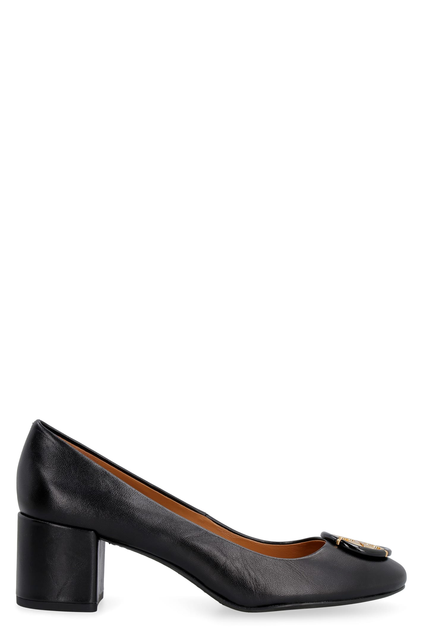 Buy Tory Burch Leather Pumps online, shop Tory Burch shoes with free shipping