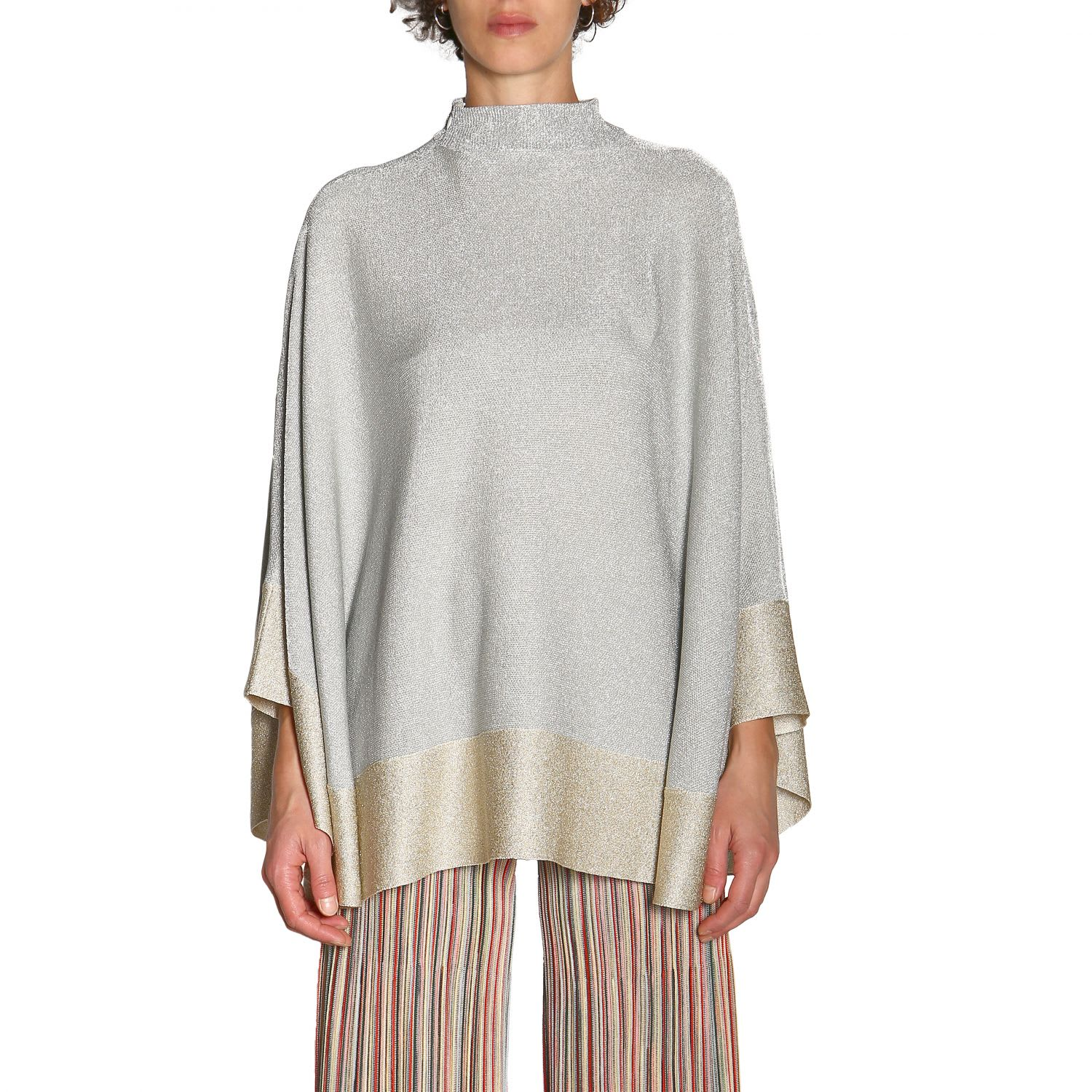 Photo of  Missoni Cape Cape Women Missoni- shop Missoni jackets online sales
