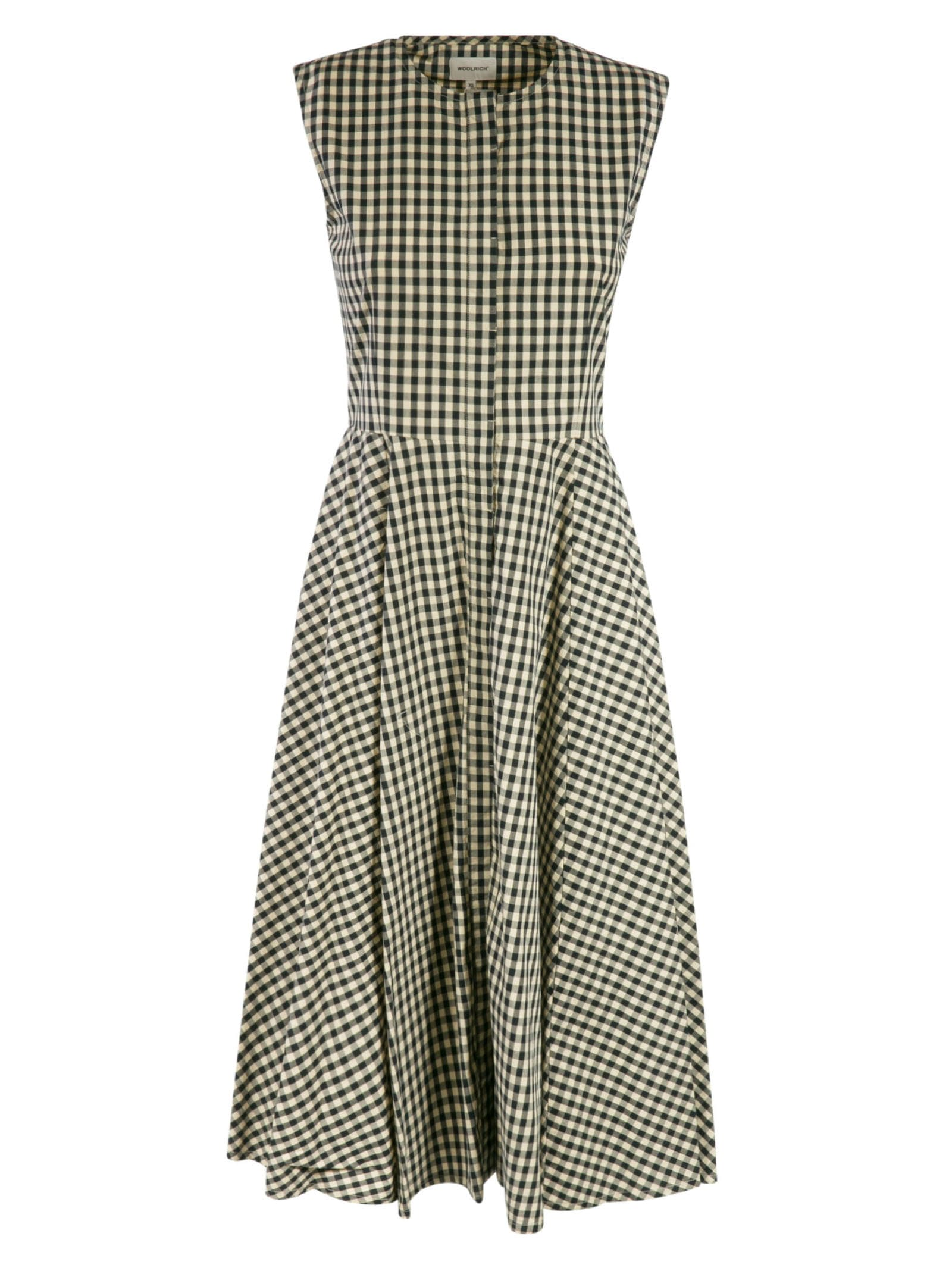 Buy Woolrich Patterned Long Dress online, shop Woolrich with free shipping