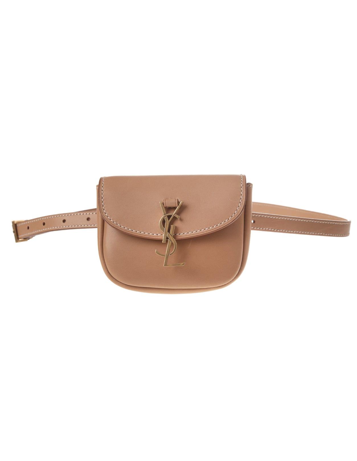 Brown Gold-bronze Kaia Waist Bag