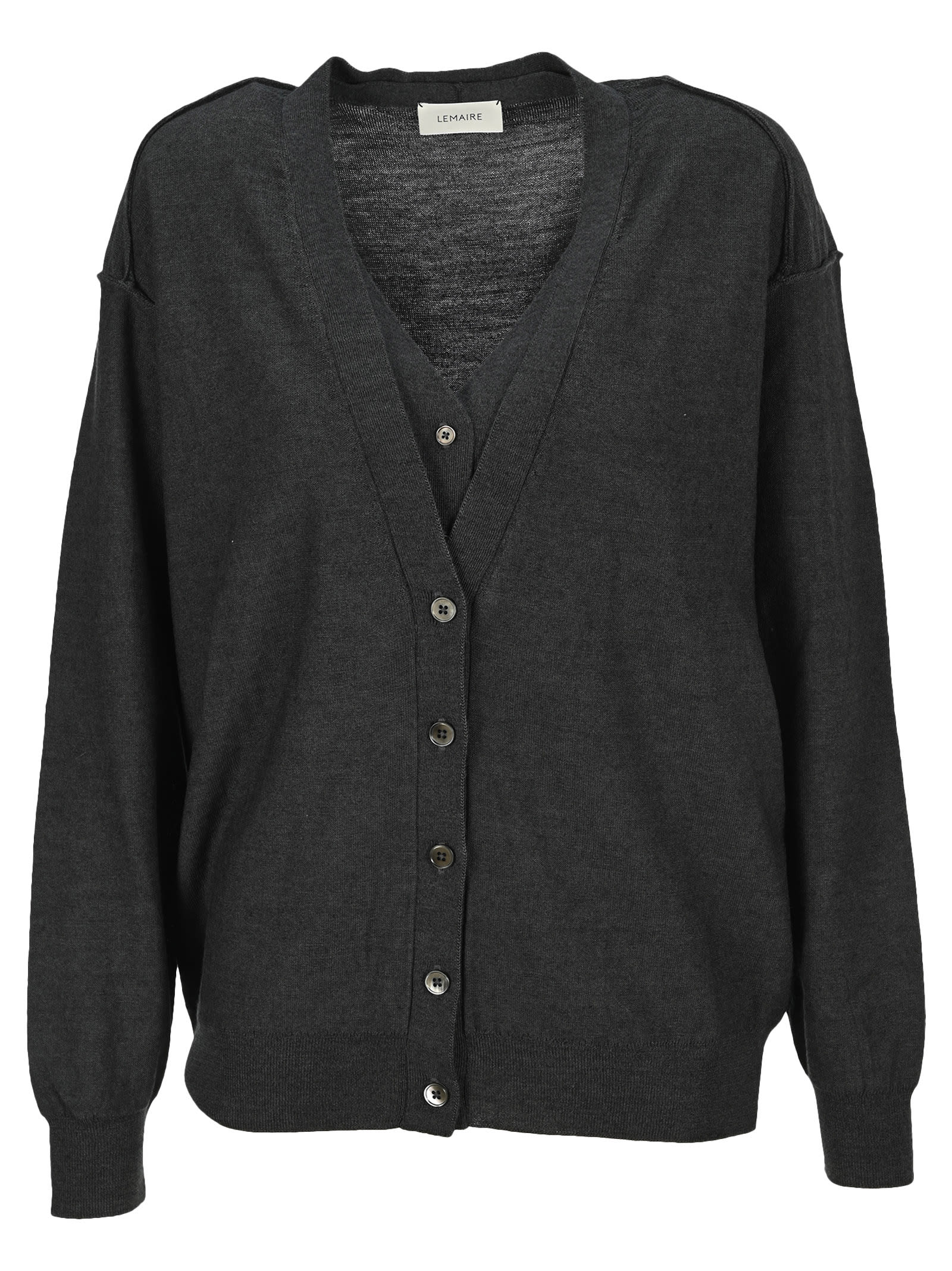 Lemaire KNITTED LOOSE CARDIGAN