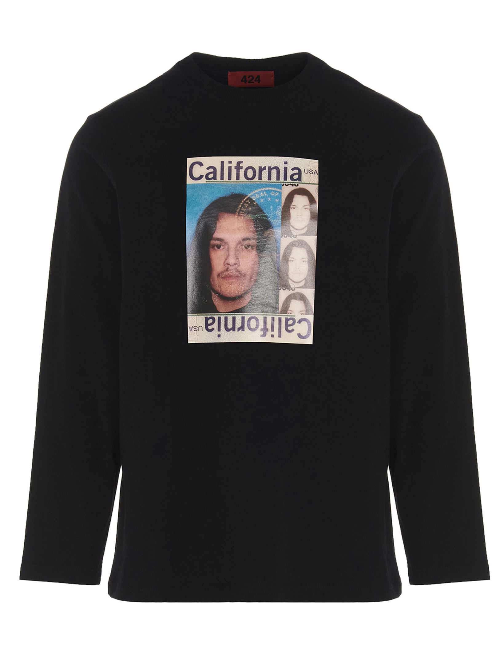 Fourtwofour On Fairfax Cottons FOURTWOFOUR ON FAIRFAX GUILLERMO DRIVE LICENSE T-SHIRT