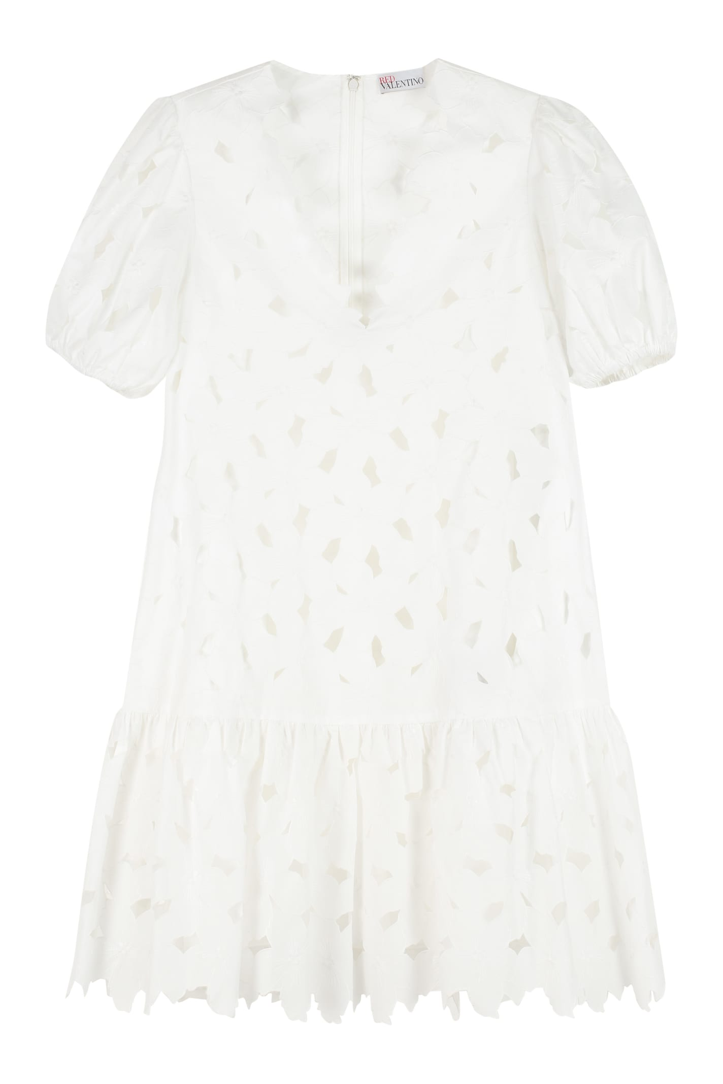 Buy RED Valentino Poplin Mini Dress online, shop RED Valentino with free shipping