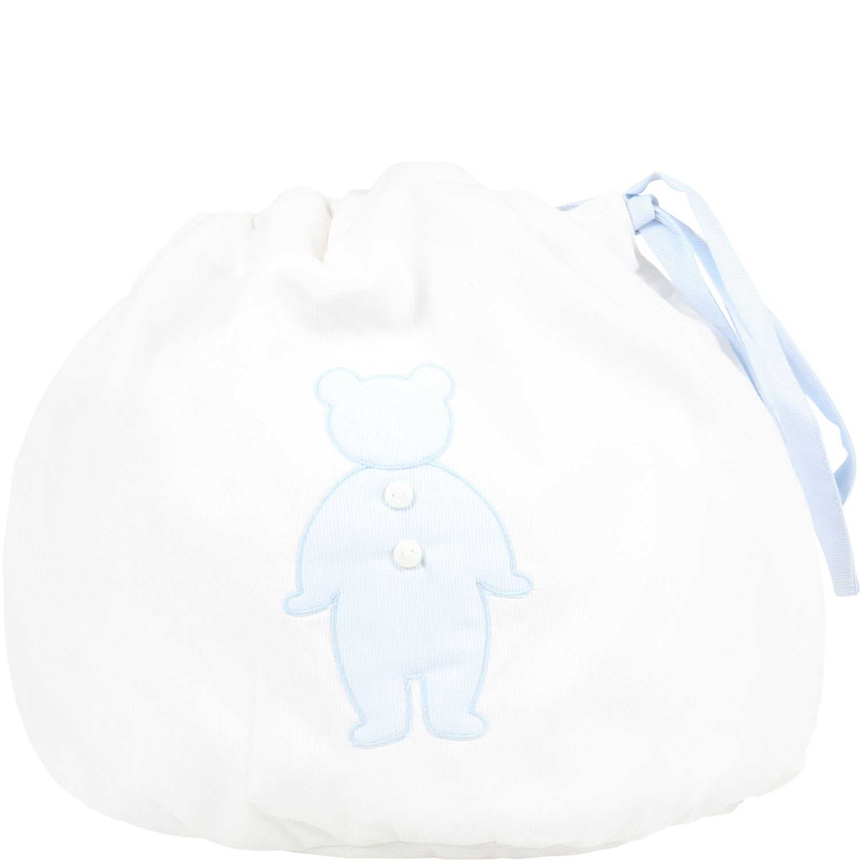 White Bag For Baby Boy