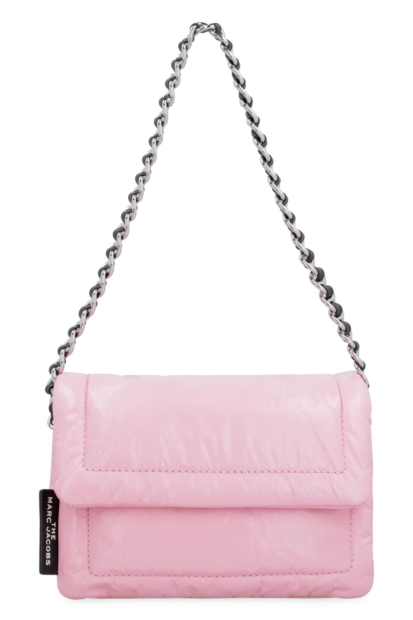 Pillow Leather Mini Crossbody Bag