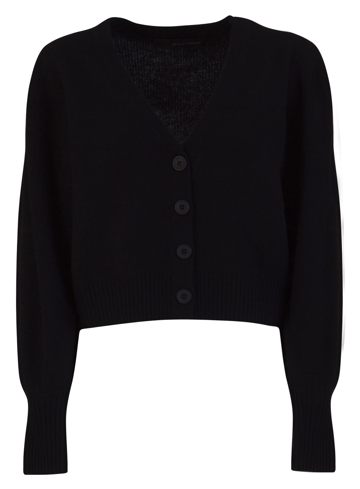 360 Cashmere Cropped Cardigan