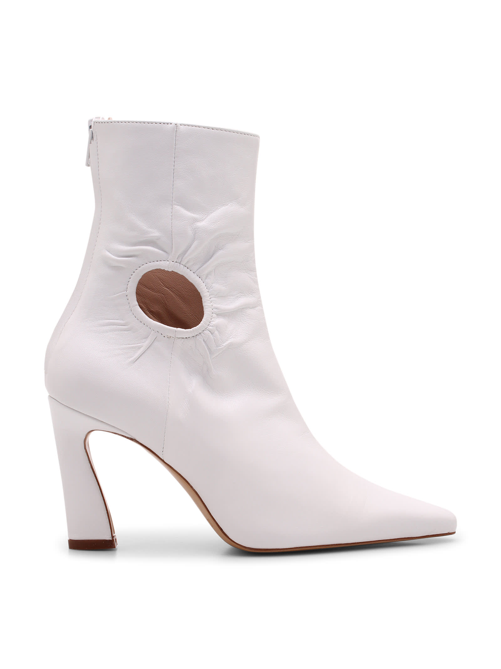 fory Leather Ankle Boots