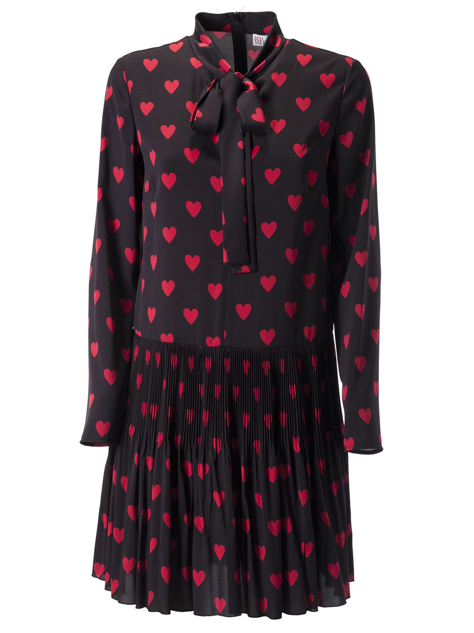 Photo of  RED Valentino Heart Print Dress- shop RED Valentino  online sales
