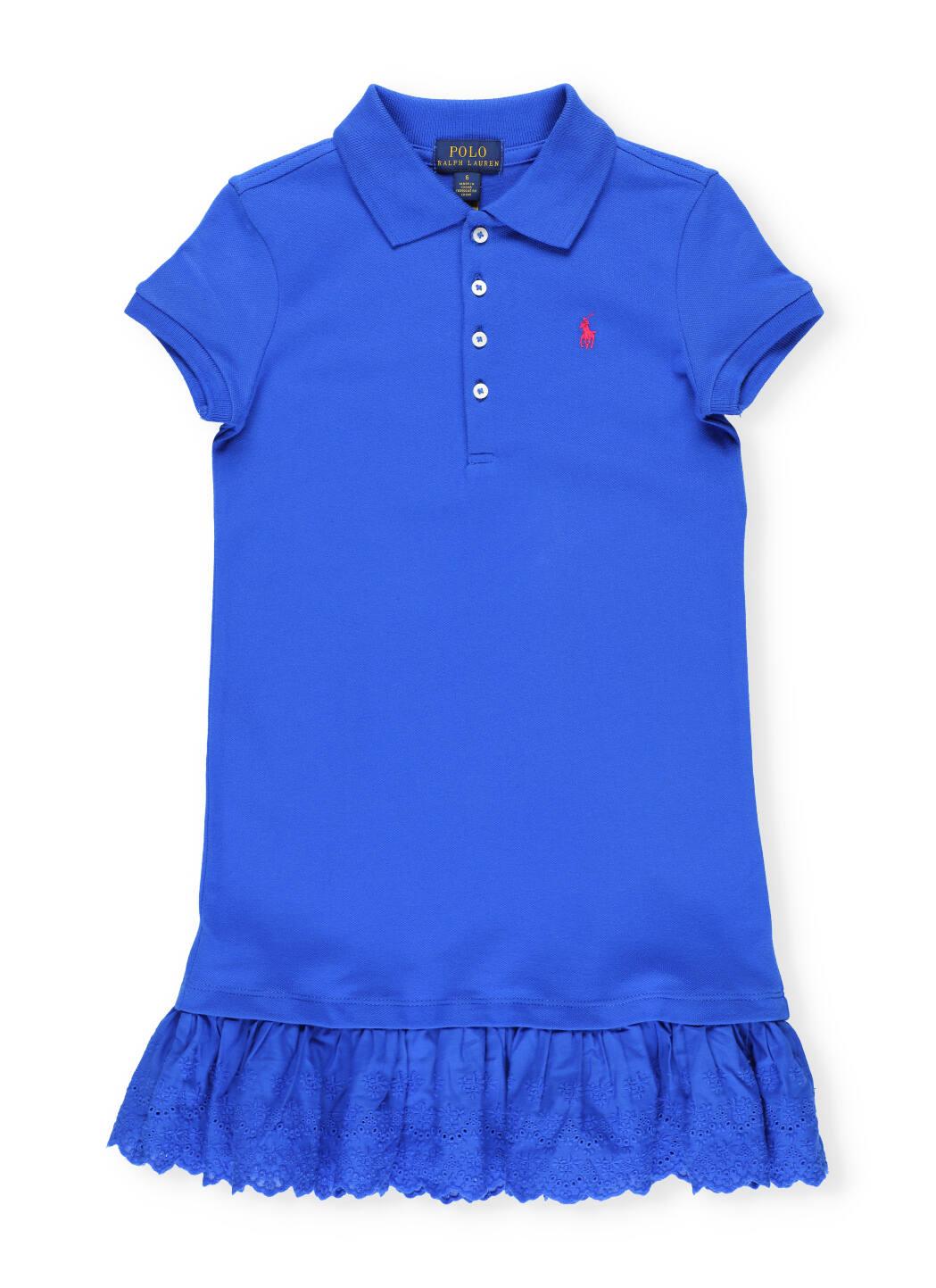 Buy Ralph Lauren Logo Polo Dress online, shop Ralph Lauren with free shipping