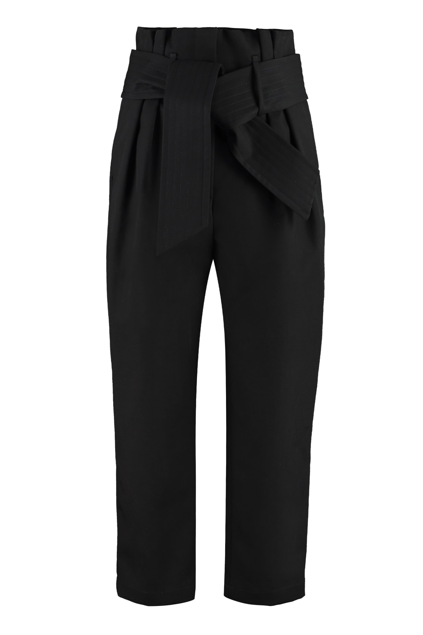 Iro RITOKIE HIGH-WAIST TAPERED-FIT TROUSERS