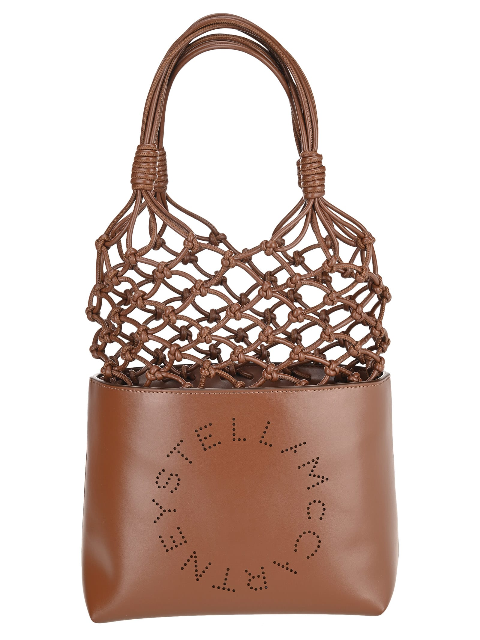 Stella Mccartney Stella Logo Knotted Tote Bag