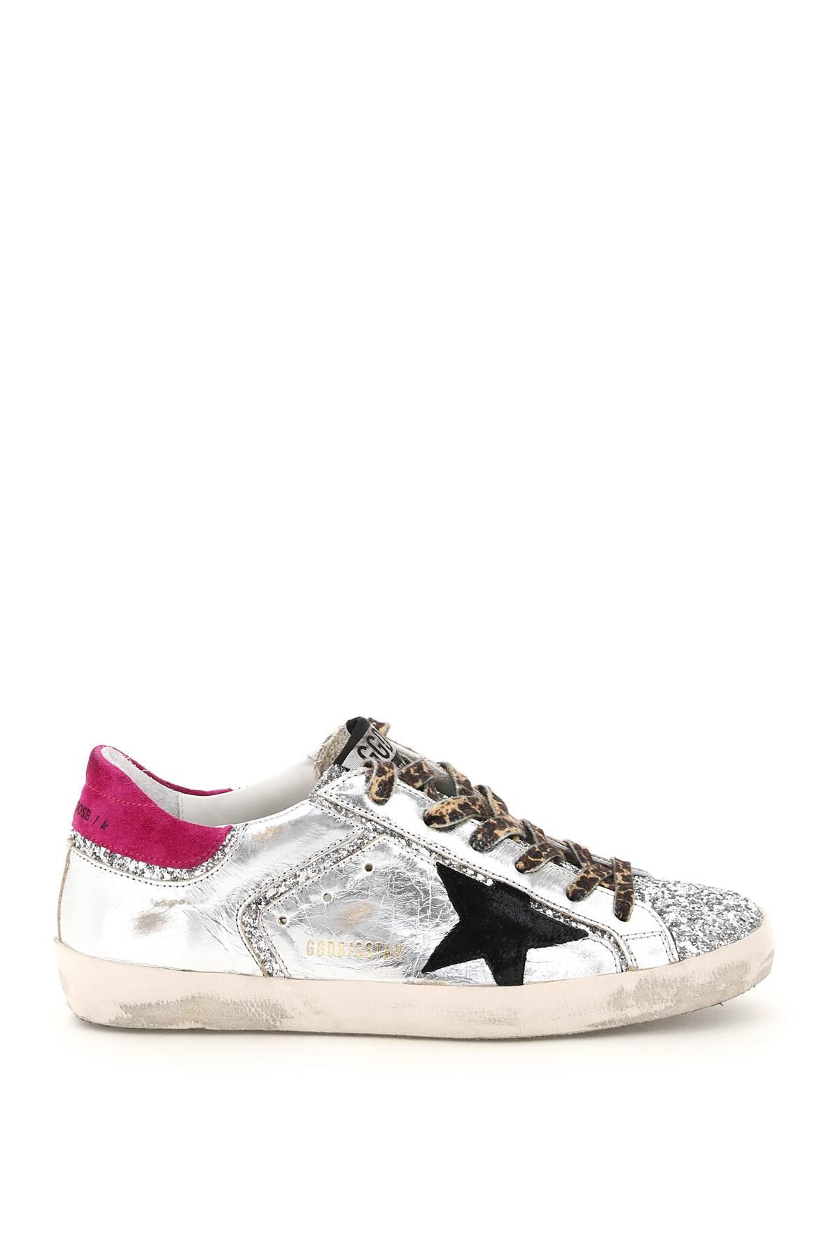 Golden Goose Glitter Super-star Sneakers