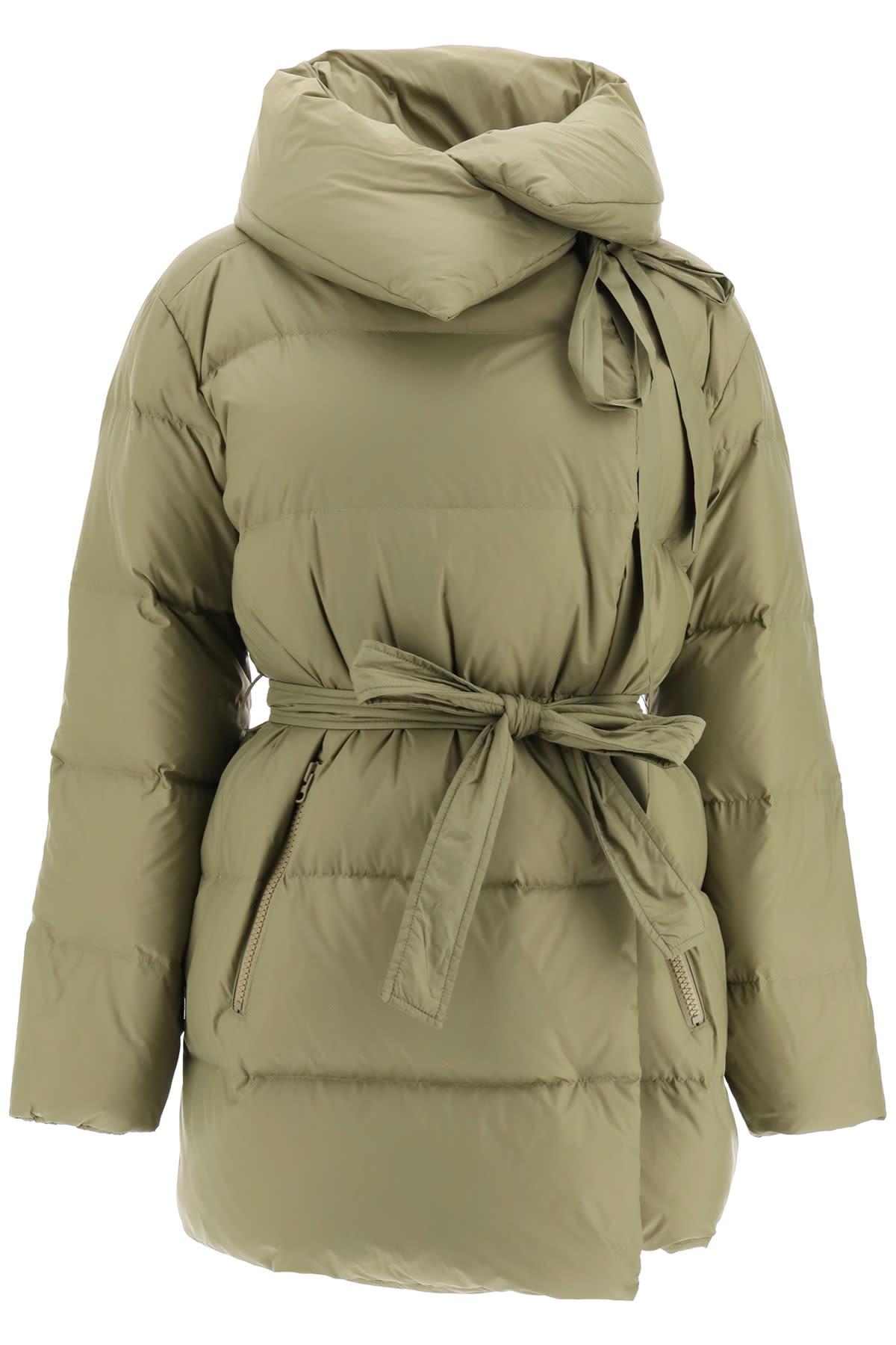 Puffa Midi Down Jacket