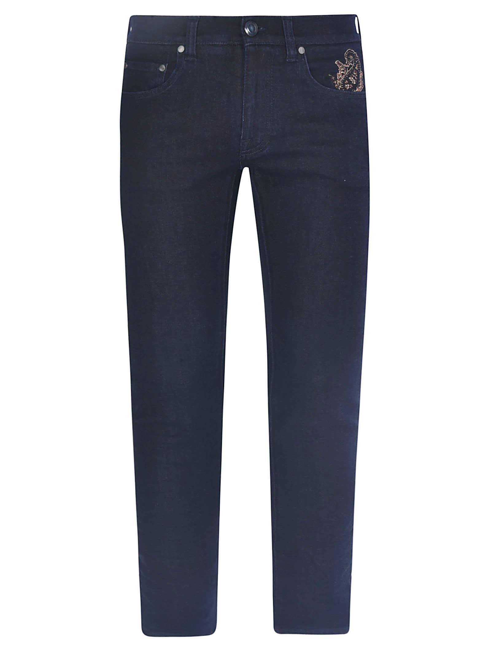 Etro New Slim Stretch Artigianale Jeans
