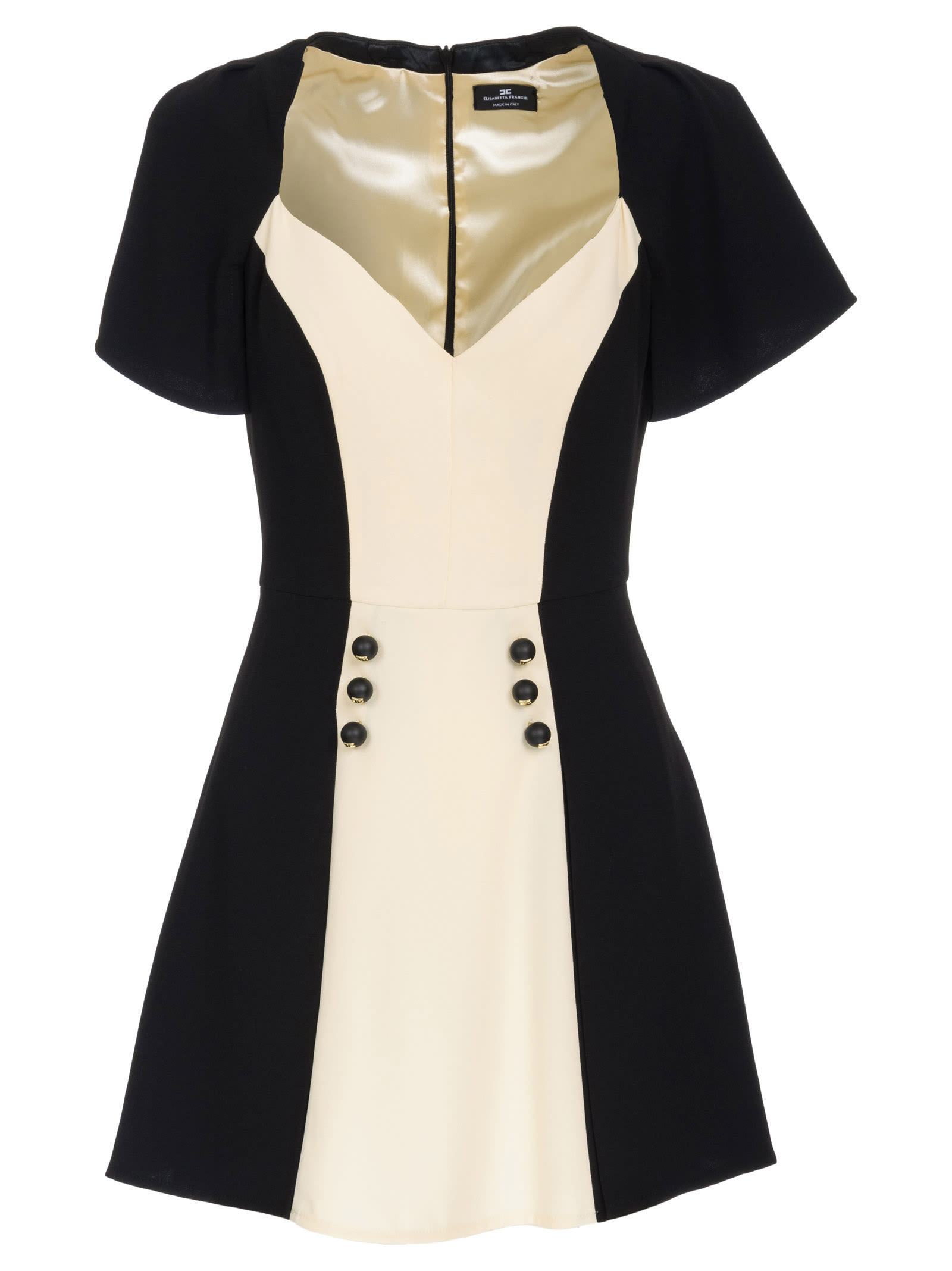 Elisabetta Franchi Bicolored Dress