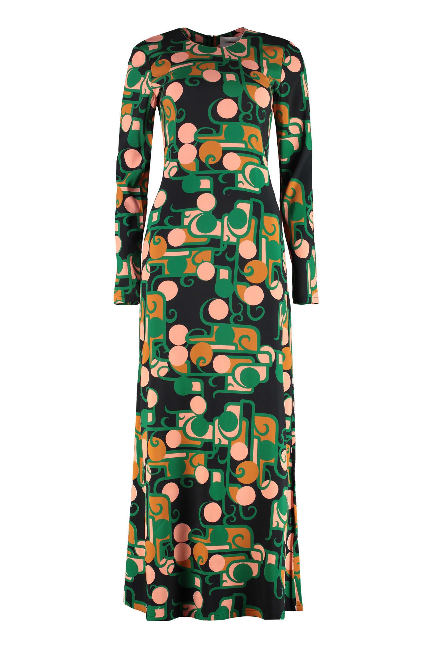 Buy La DoubleJ Swing Printed Maxi Dress online, shop La DoubleJ with free shipping