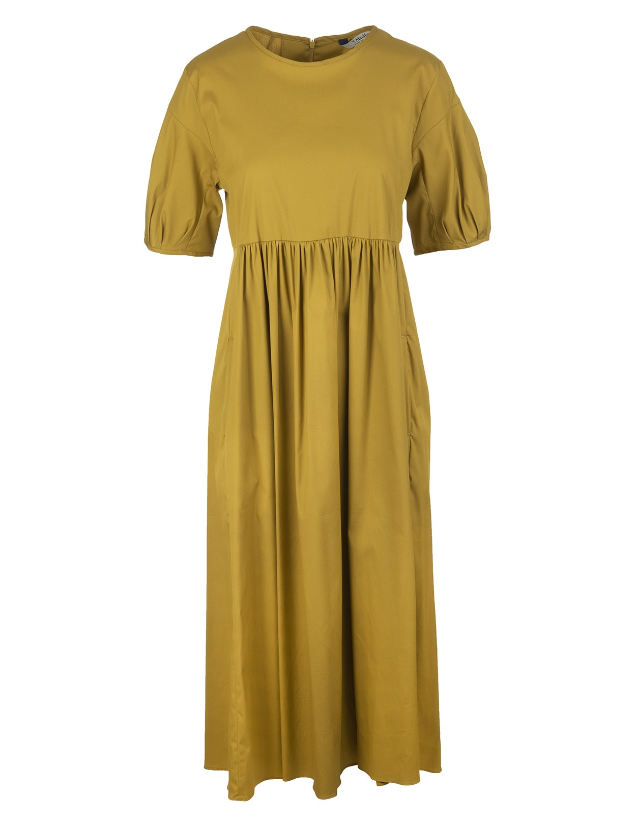 Buy Yellow Fato Long Dress online, shop Max Mara with free shipping