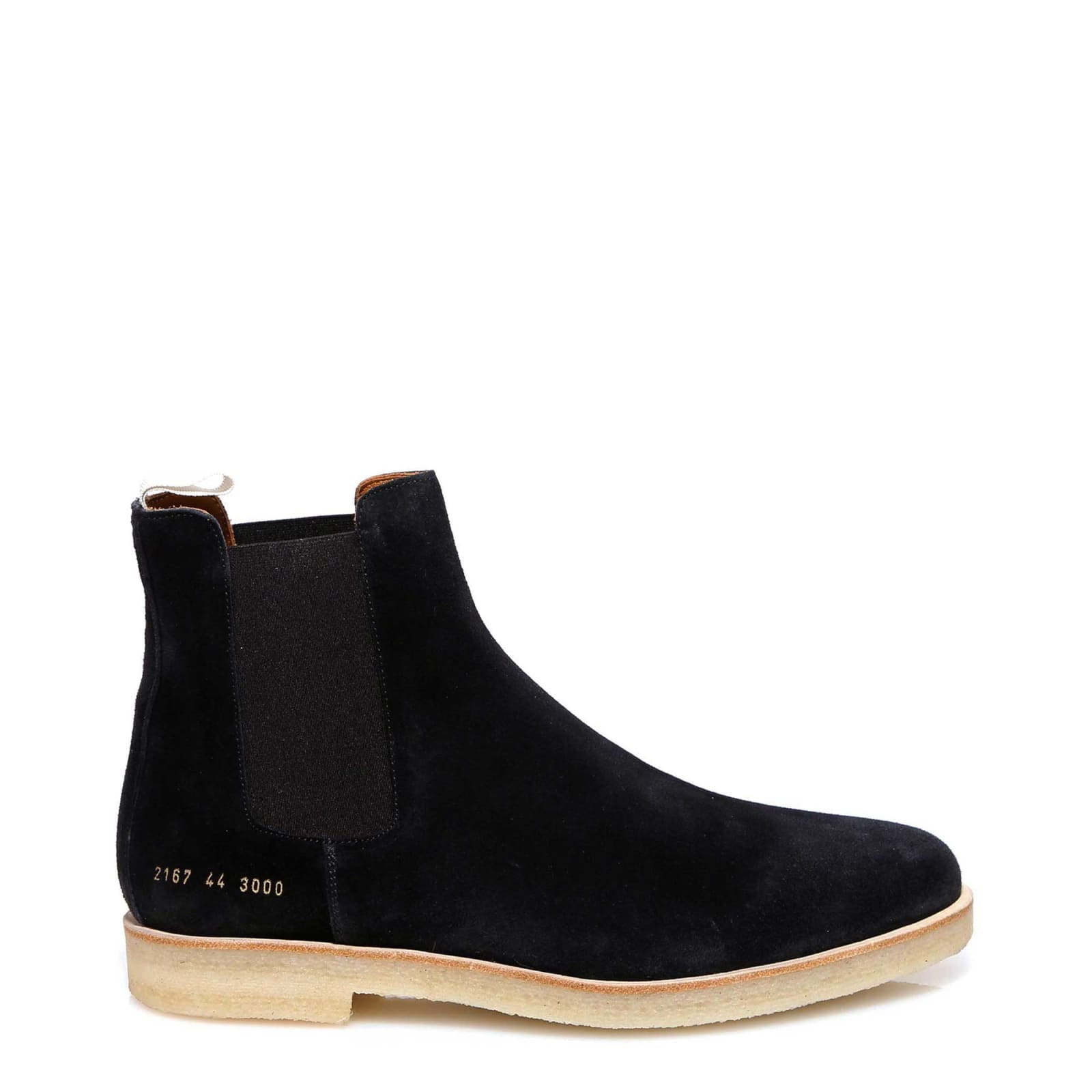 Common Projects Chelsea Boots In Black Modesens