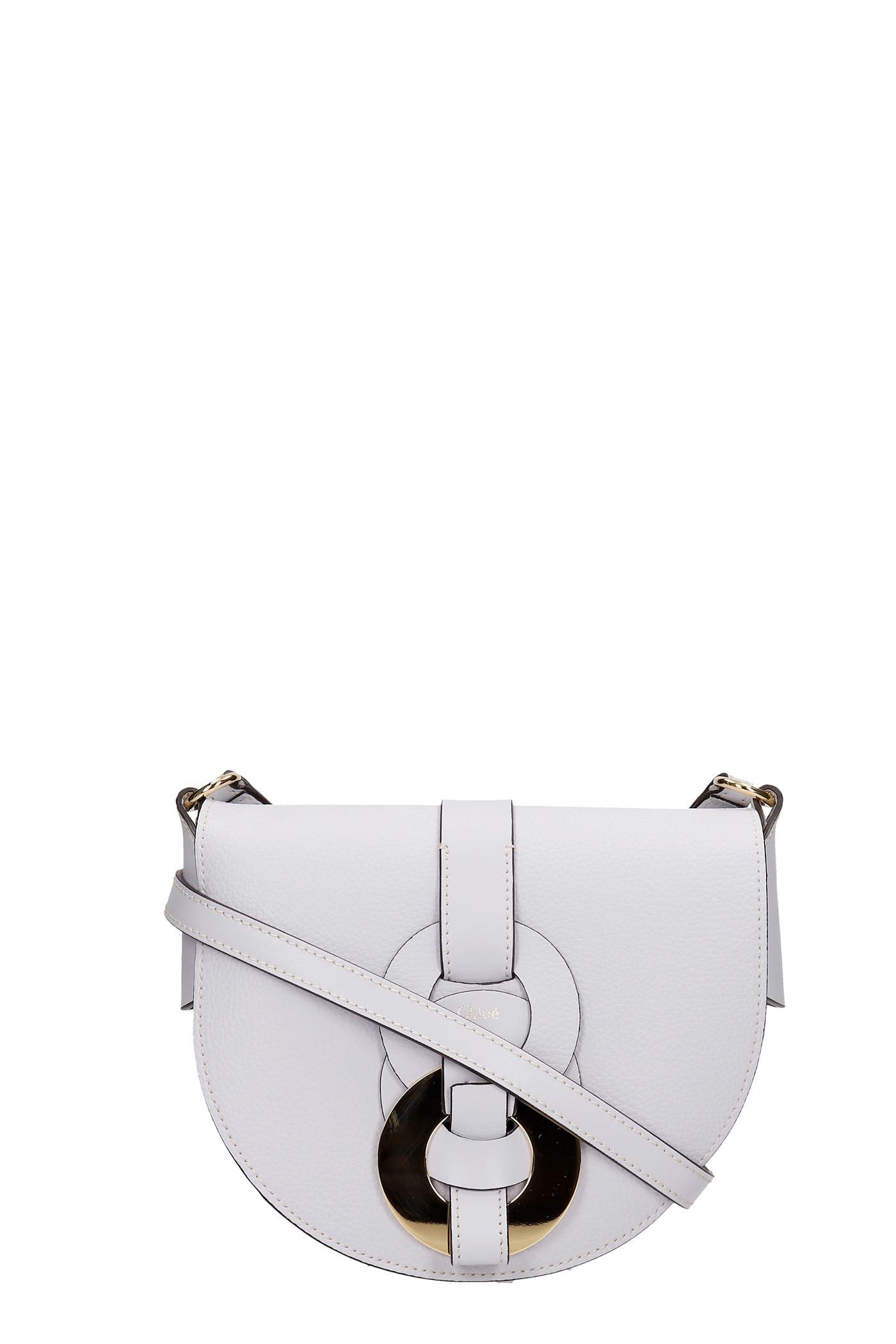 Chloé Shoulder Bag In Grey Leather