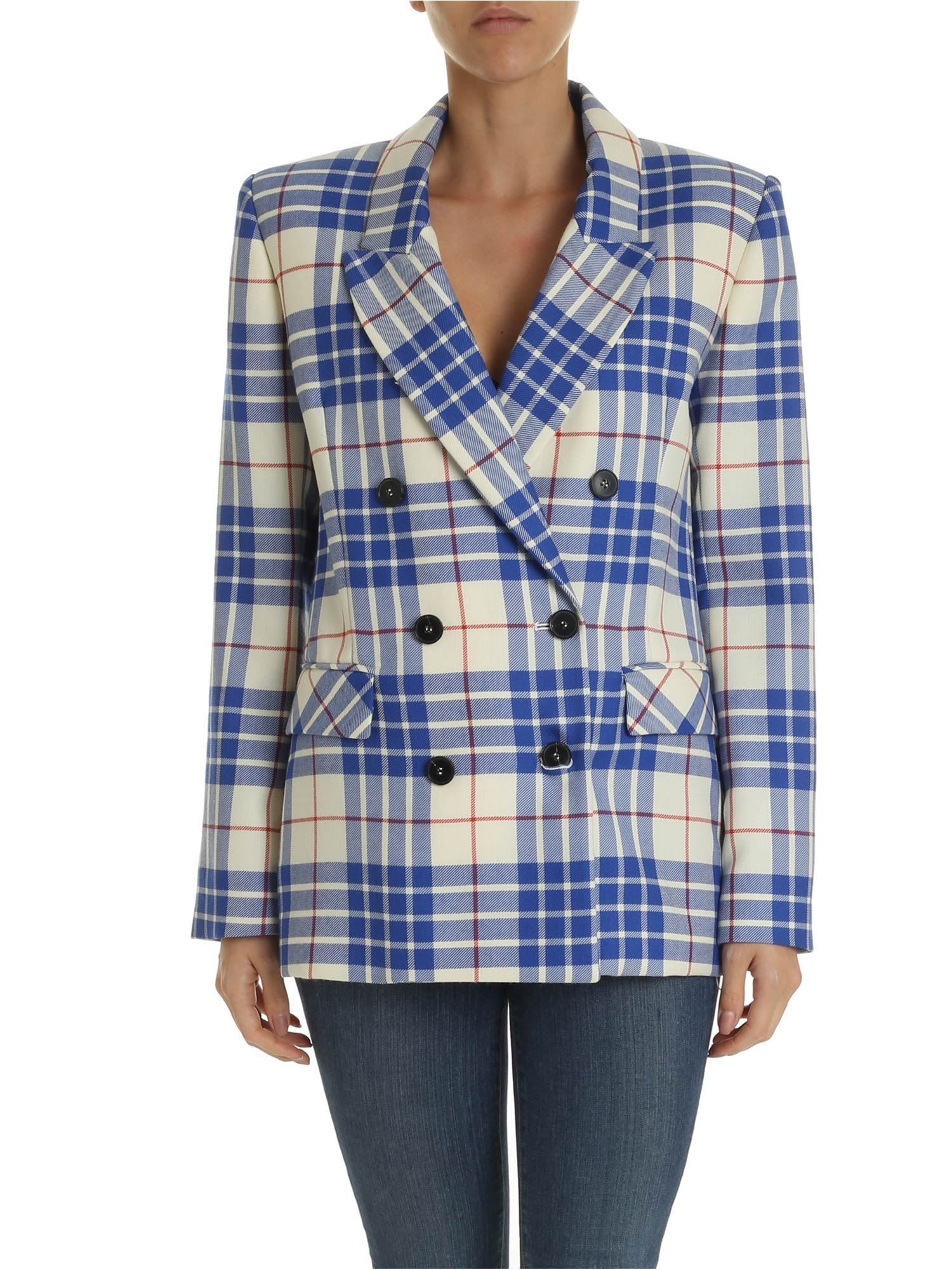 Giada Benincasa – Jacket With Checkered Pattern