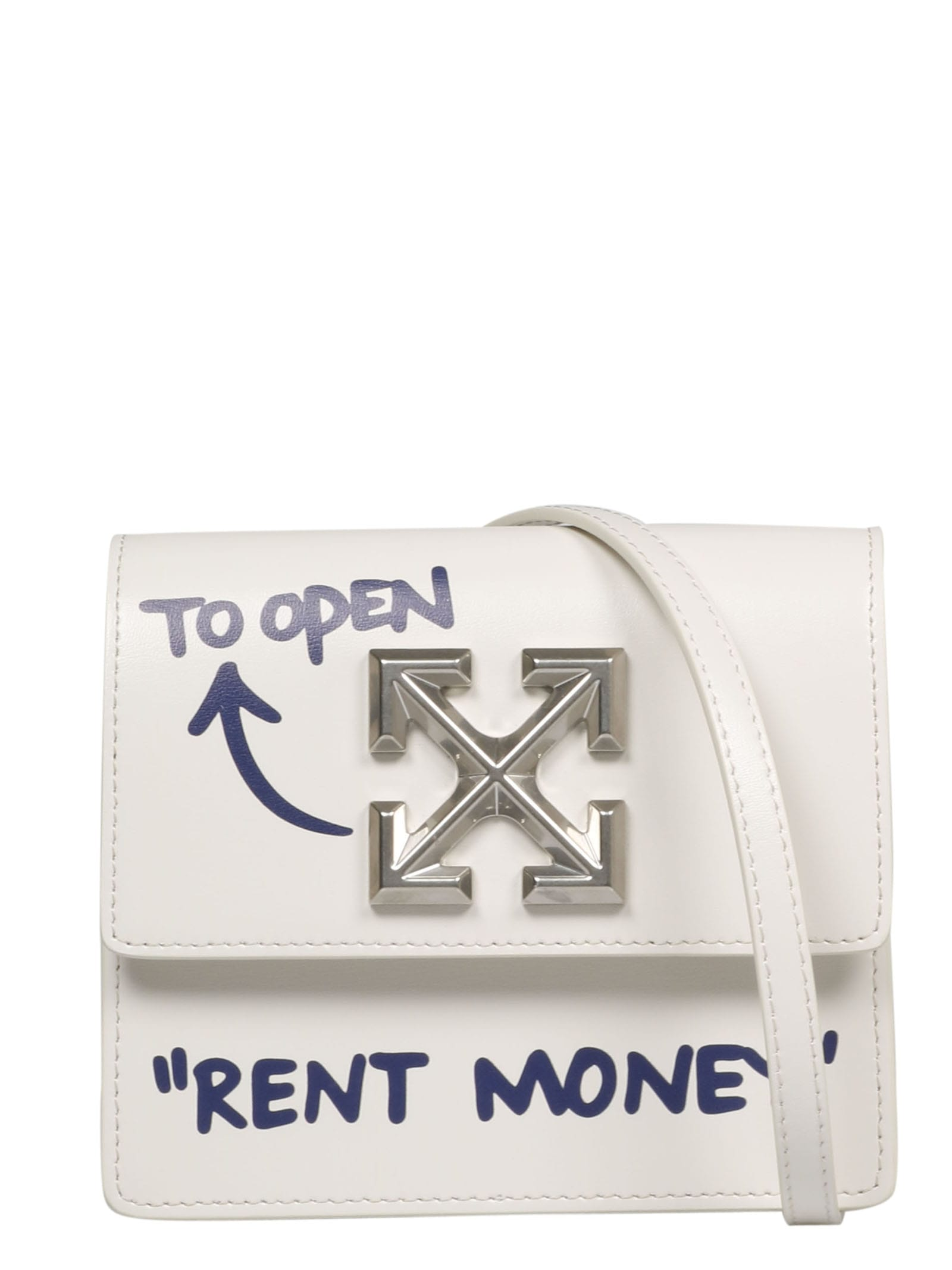 OFF-WHITE QUOTE JITNEY 0.7 BAG