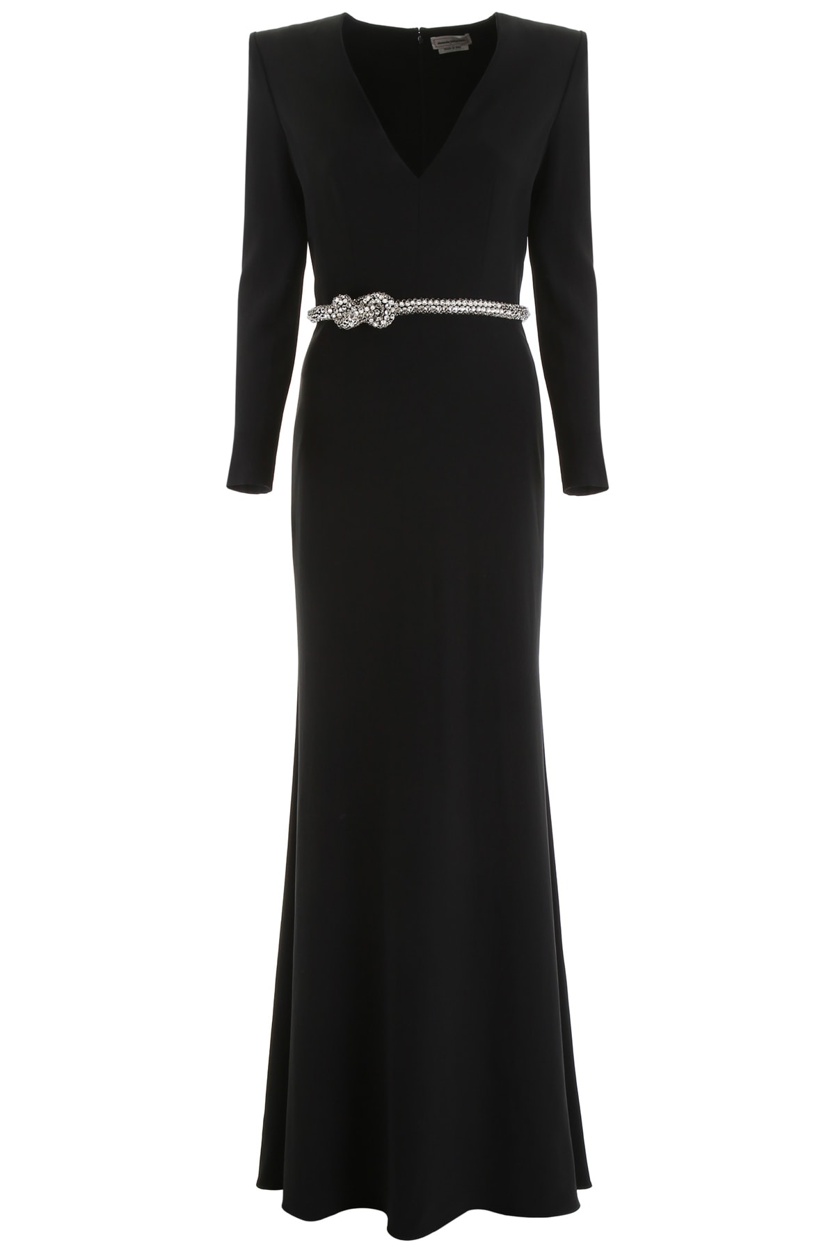 Alexander McQueen Crystal Knot Long Dress