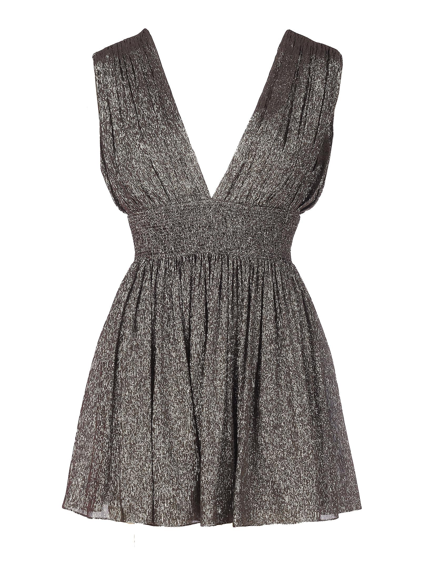 Buy Saint Laurent Jersey Lurex Dress online, shop Saint Laurent with free shipping