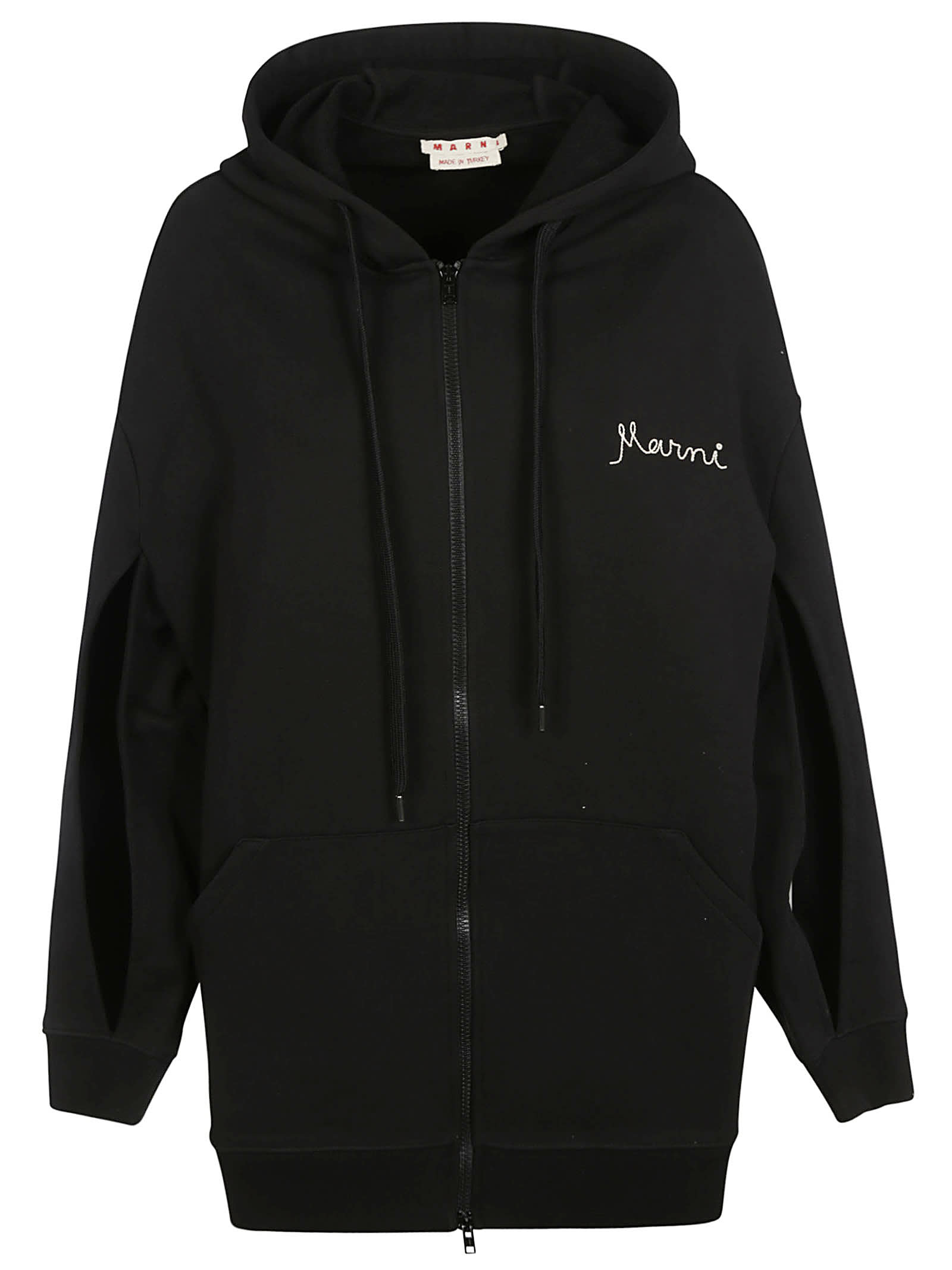 Marni OVERSIZE HOODED JACKET