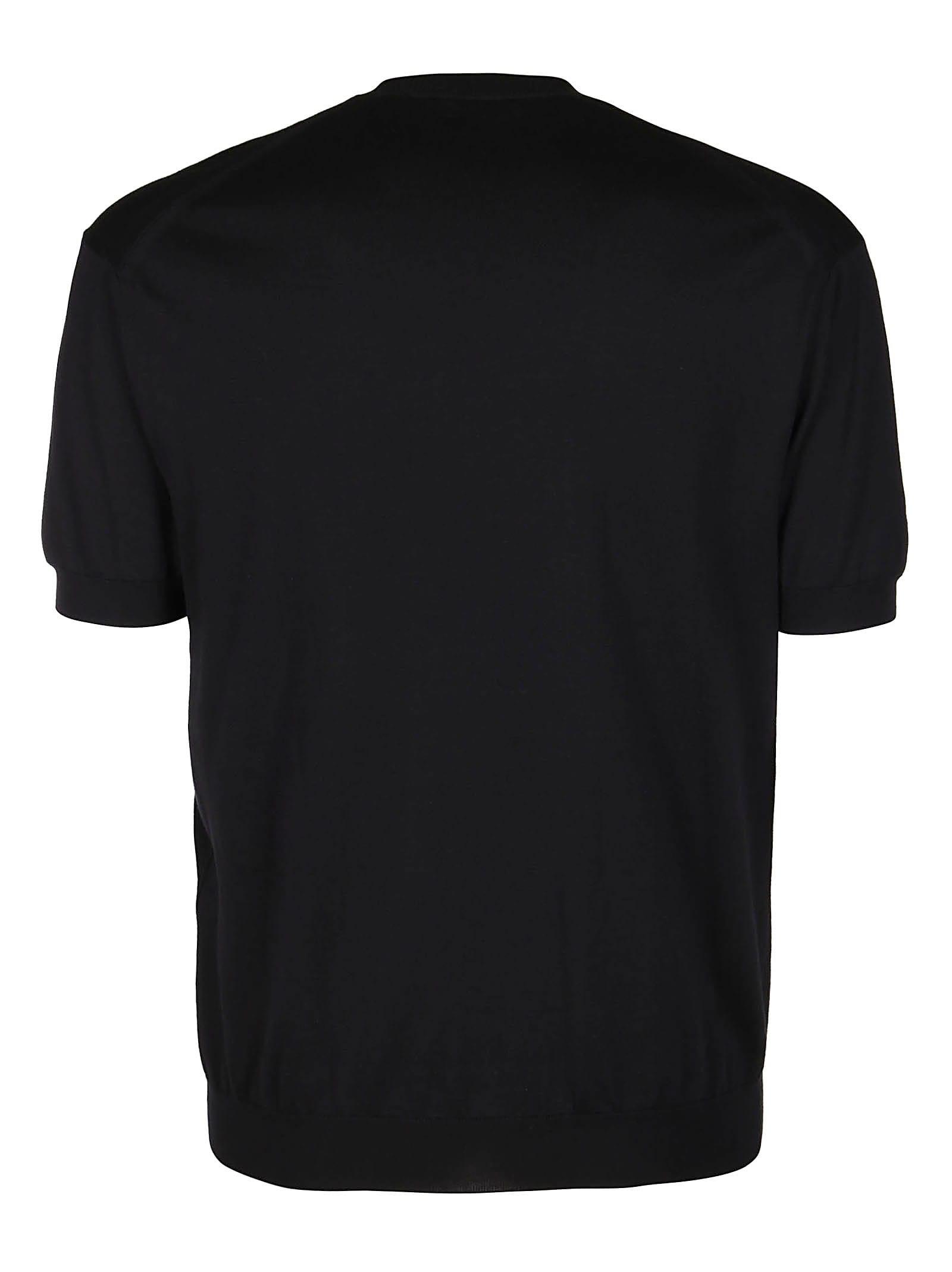 Tom Ford BLACK COTTON-SILK BLEND SWEATSHIRT